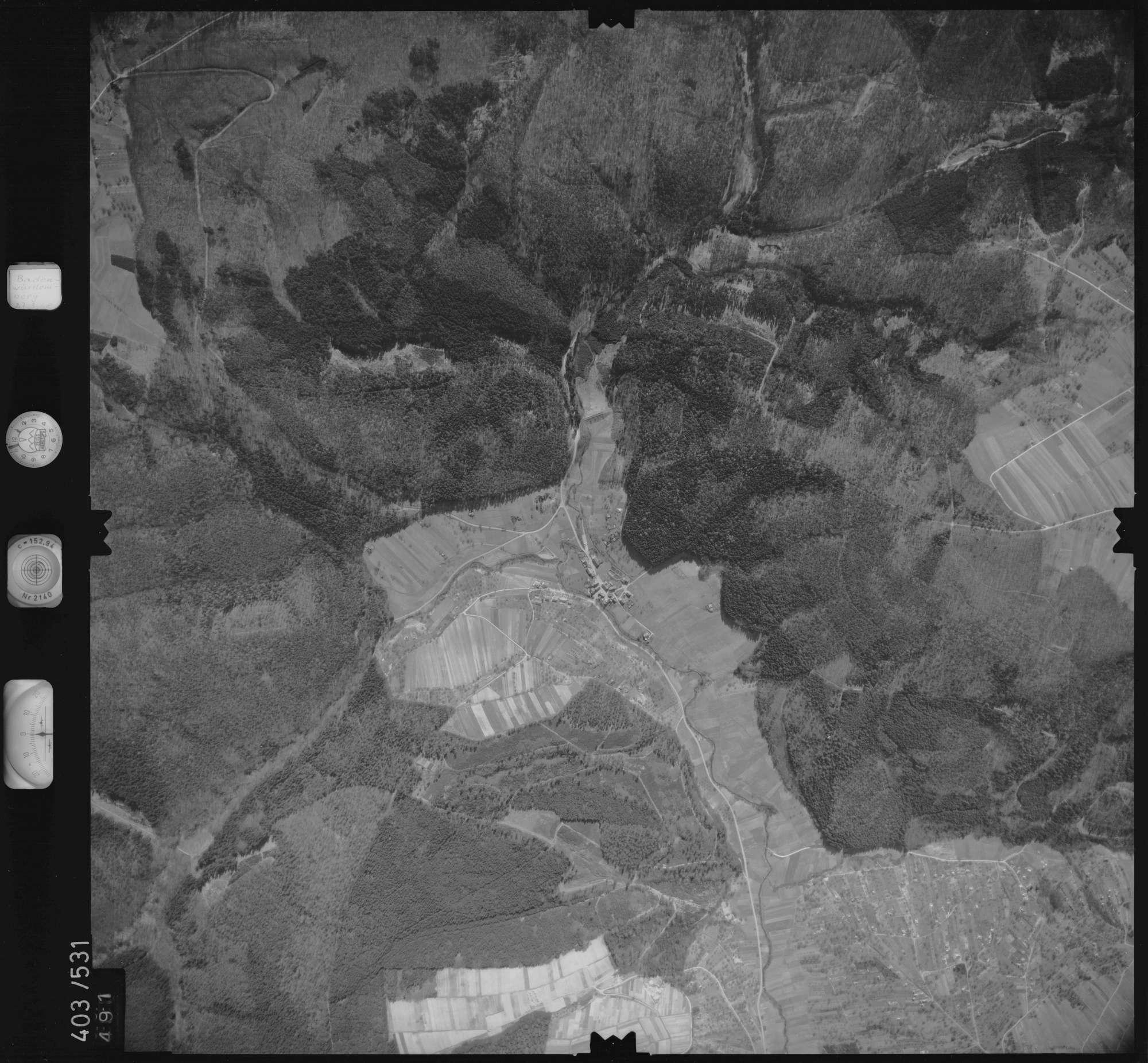 Luftbild: Film 10 Bildnr. 491, Bild 1