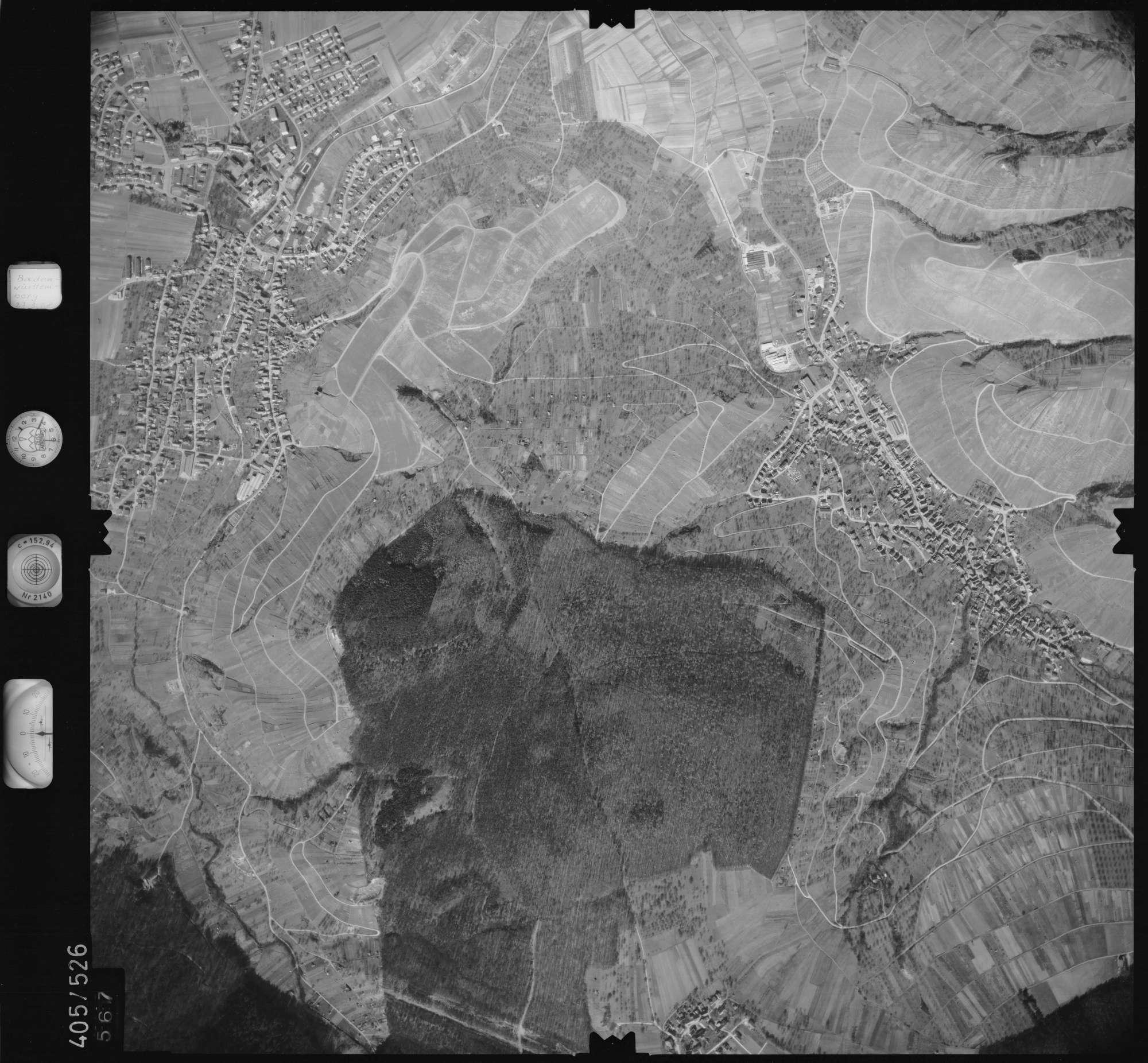 Luftbild: Film 10 Bildnr. 567, Bild 1