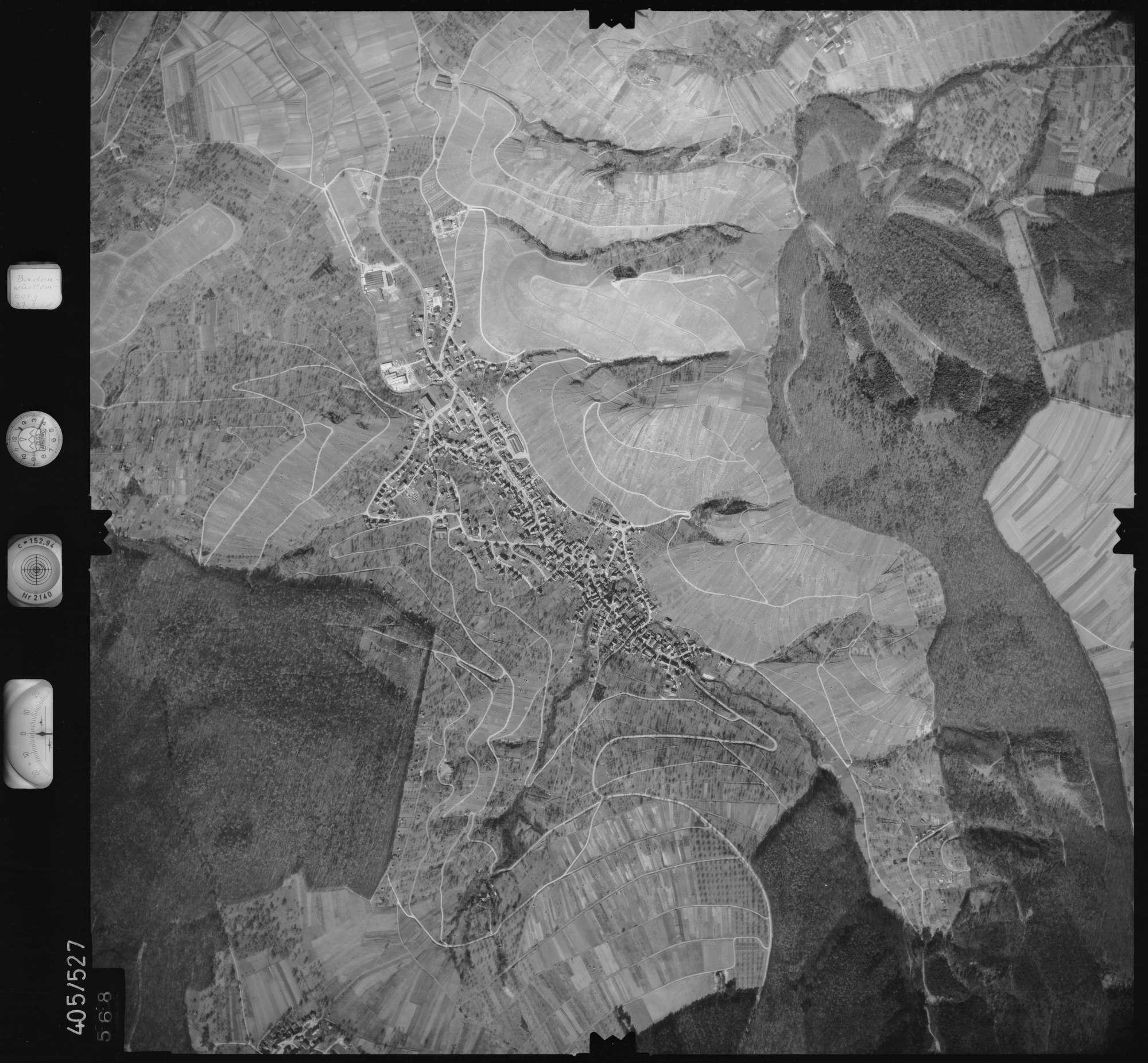 Luftbild: Film 10 Bildnr. 568, Bild 1