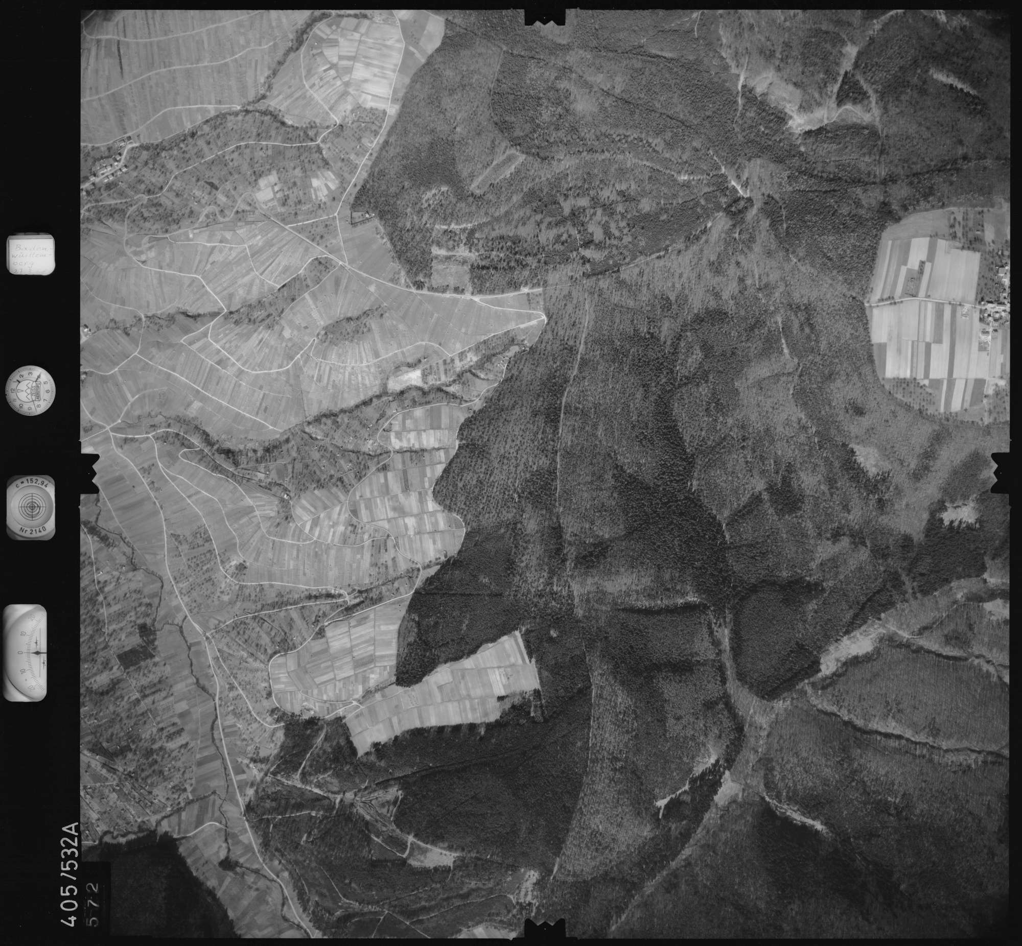 Luftbild: Film 10 Bildnr. 572, Bild 1
