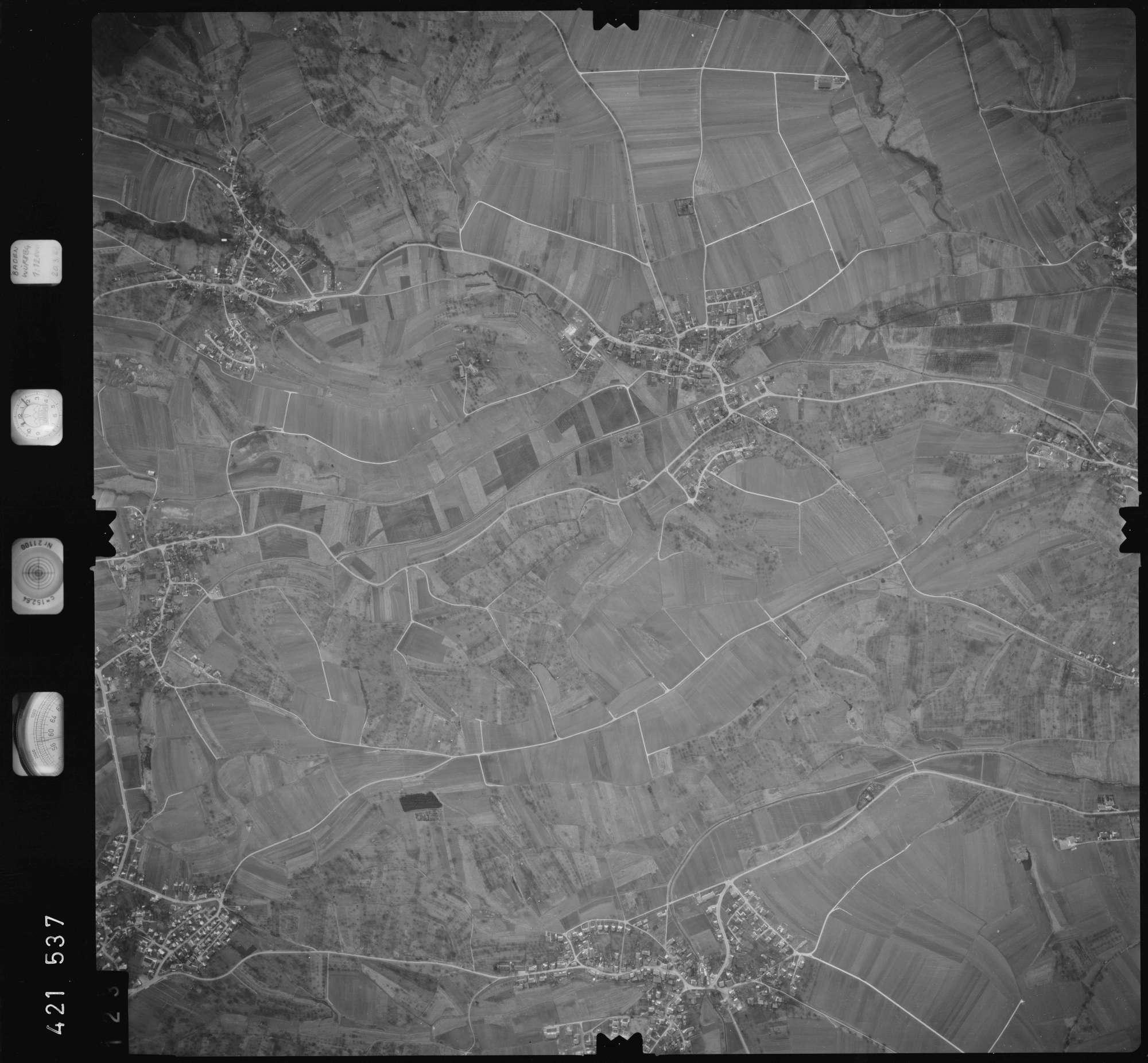 Luftbild: Film 1 Bildnr. 123, Bild 1