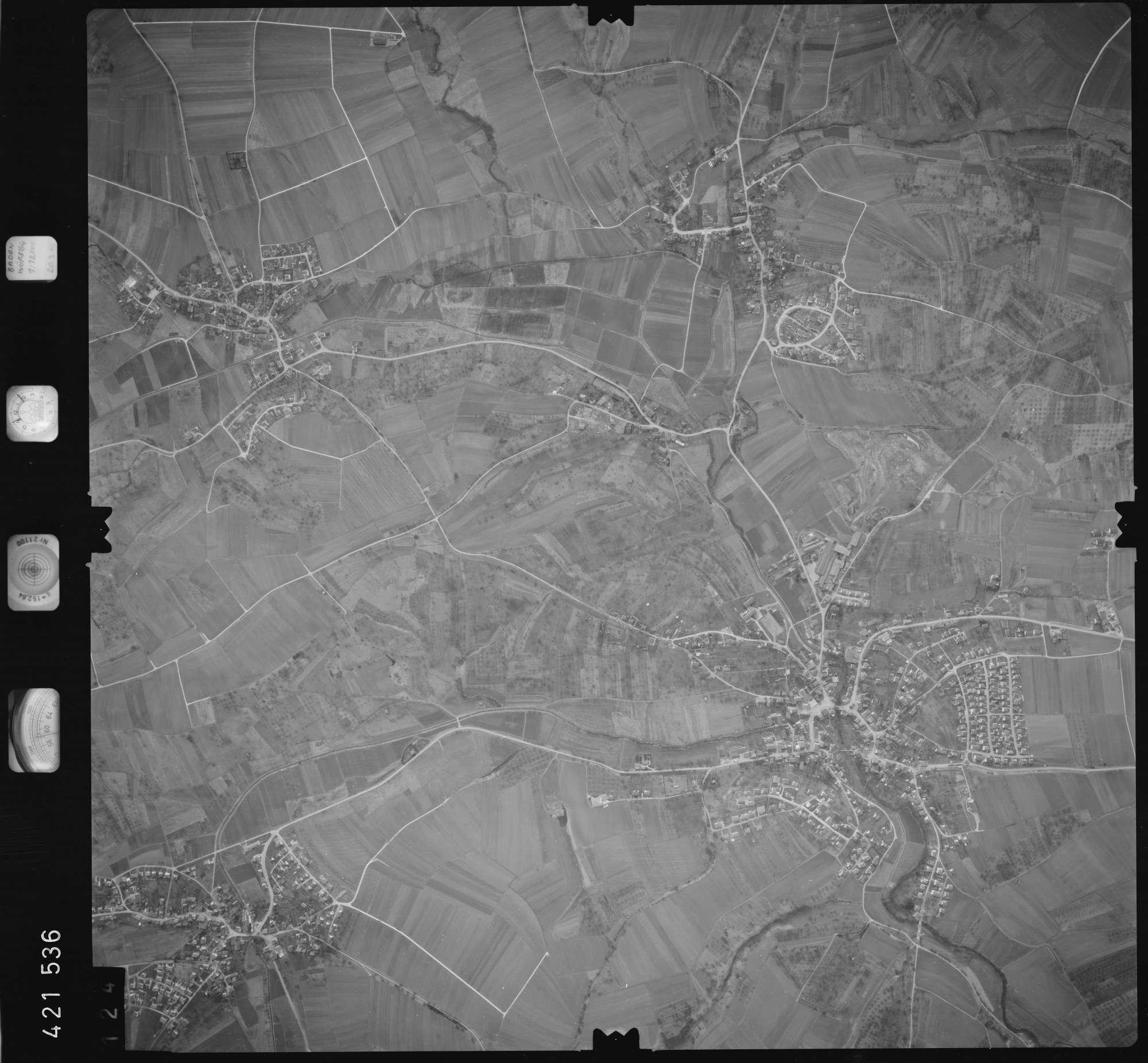 Luftbild: Film 1 Bildnr. 124, Bild 1