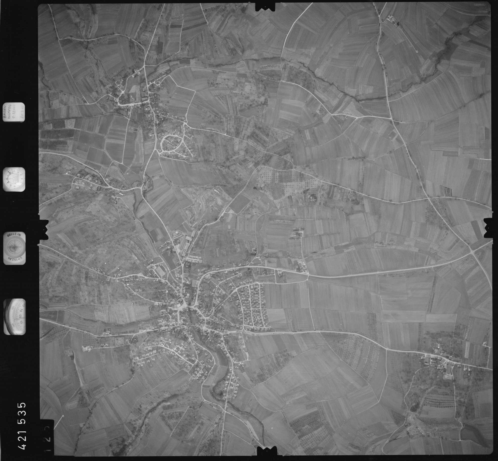 Luftbild: Film 1 Bildnr. 125, Bild 1