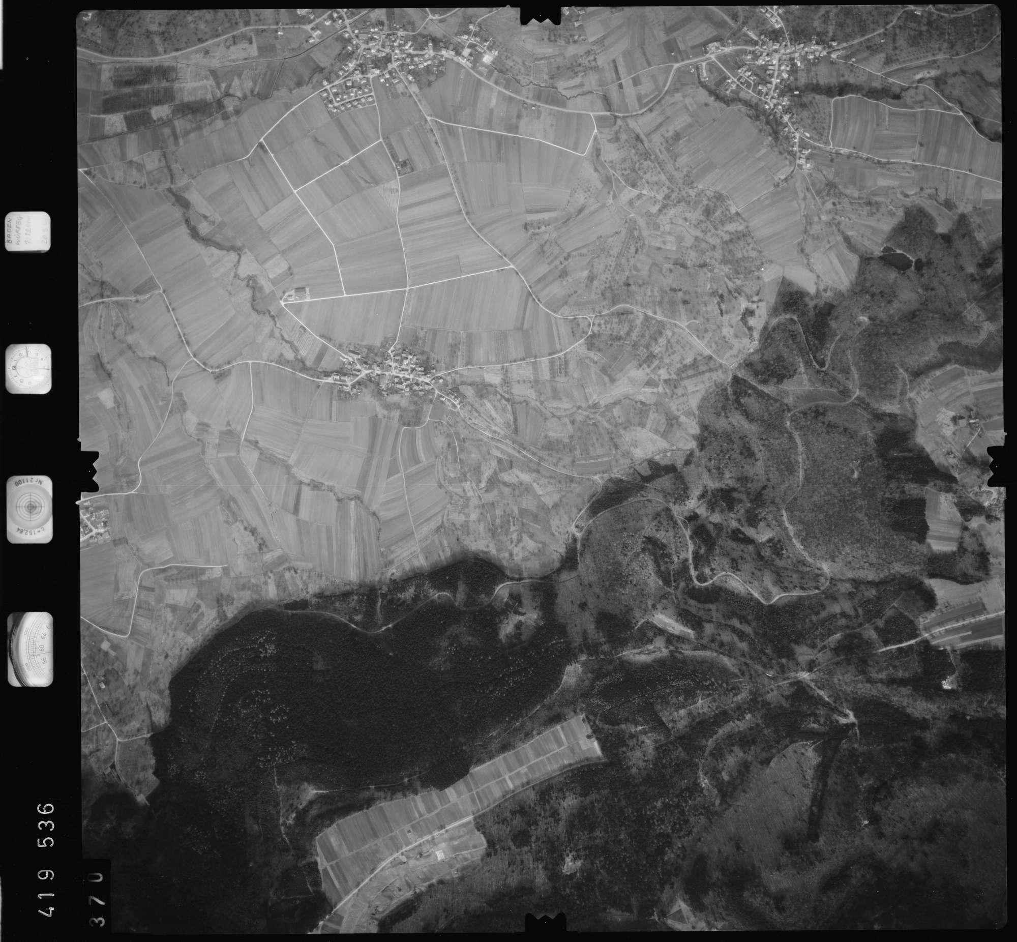 Luftbild: Film 2 Bildnr. 370, Bild 1