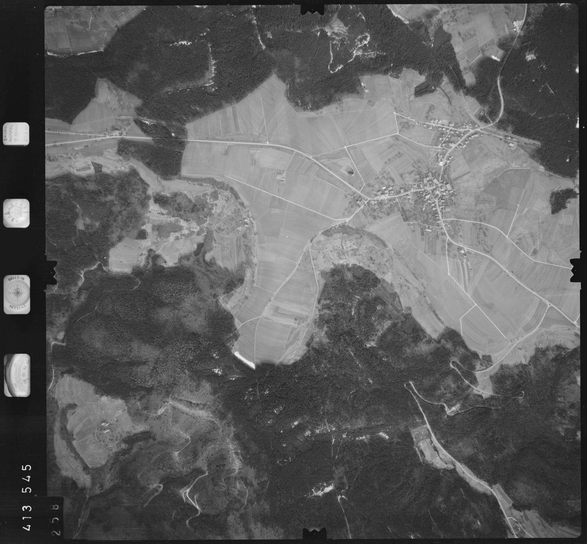 Luftbild: Film 5 Bildnr. 258, Bild 1
