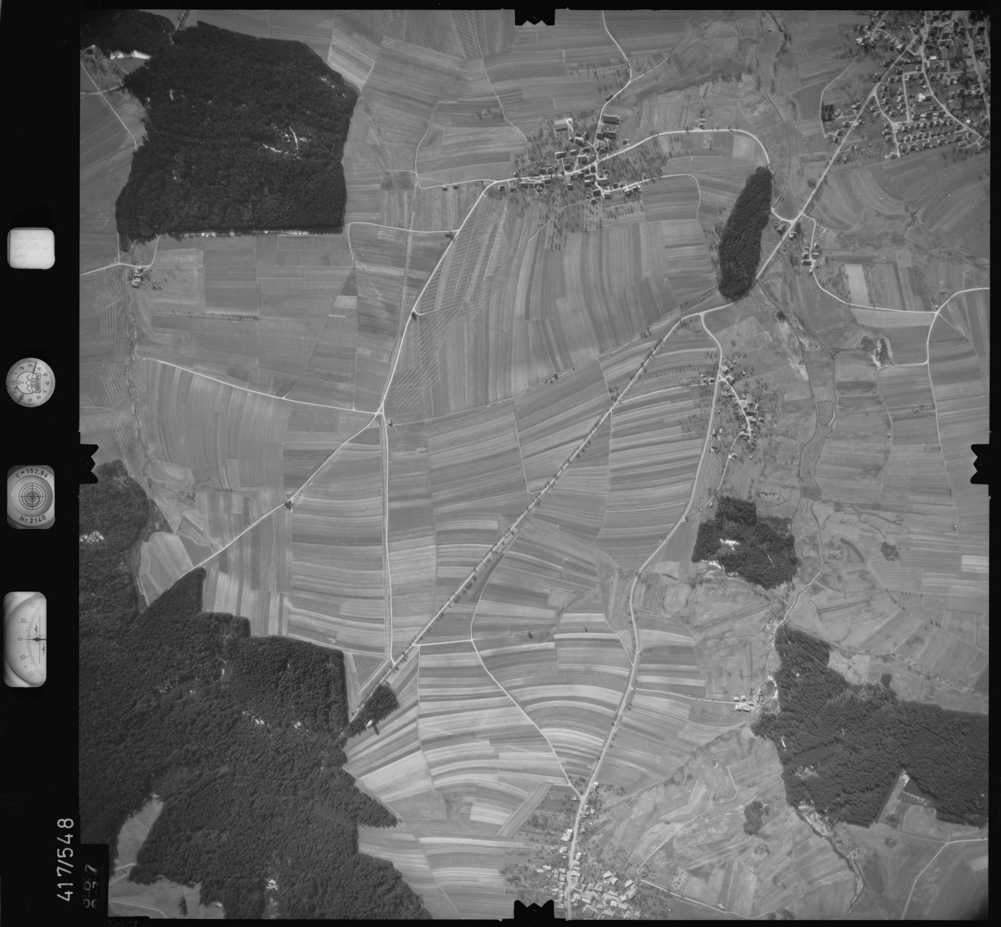 Luftbild: Film 6 Bildnr. 387, Bild 1