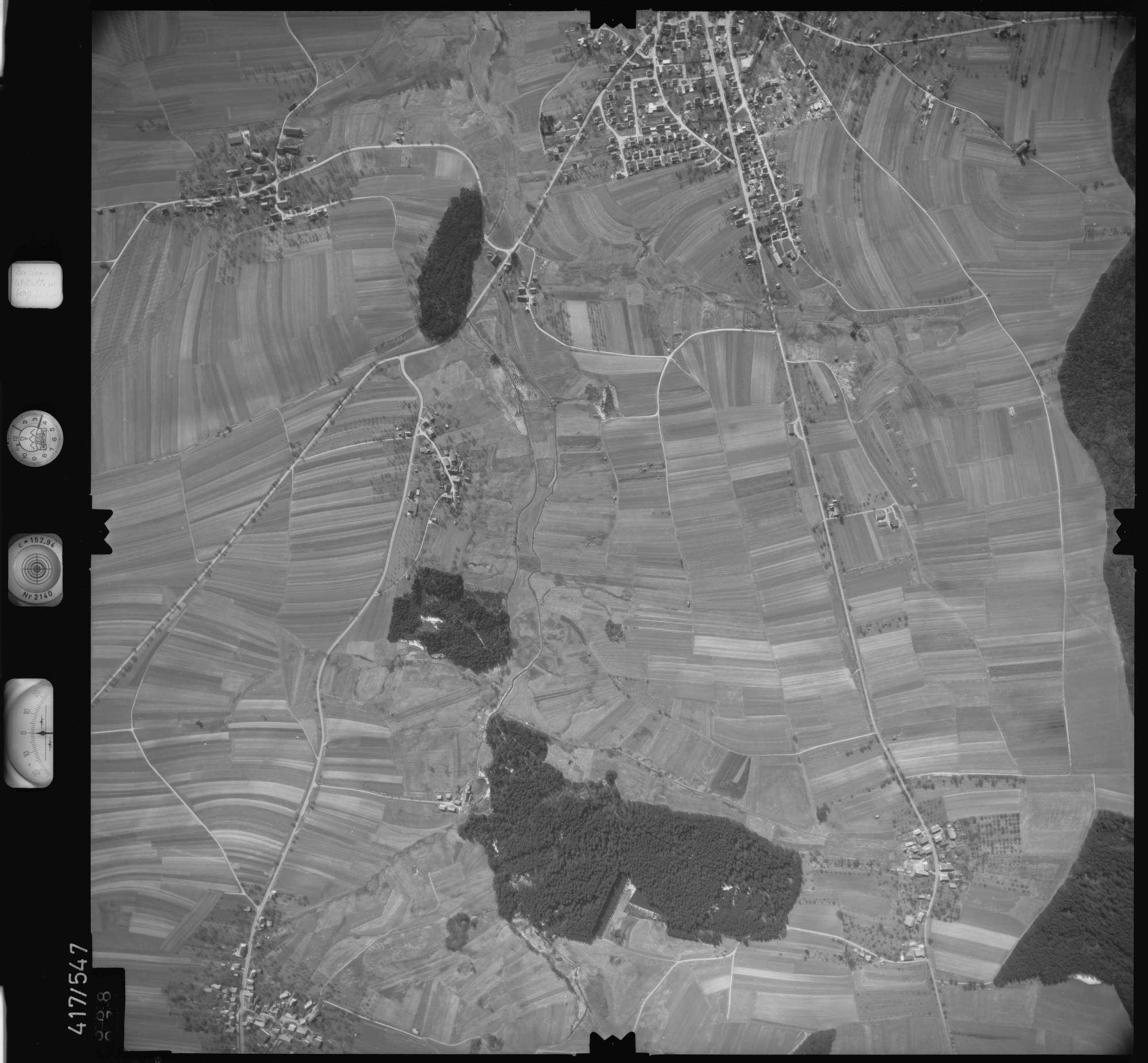 Luftbild: Film 6 Bildnr. 388, Bild 1
