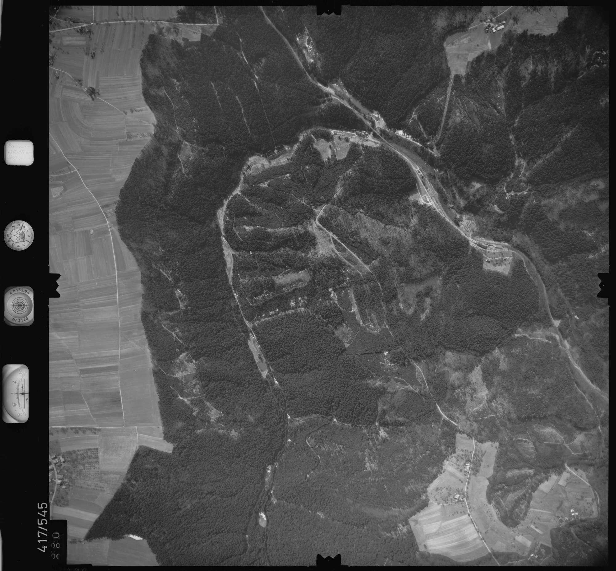 Luftbild: Film 6 Bildnr. 390, Bild 1
