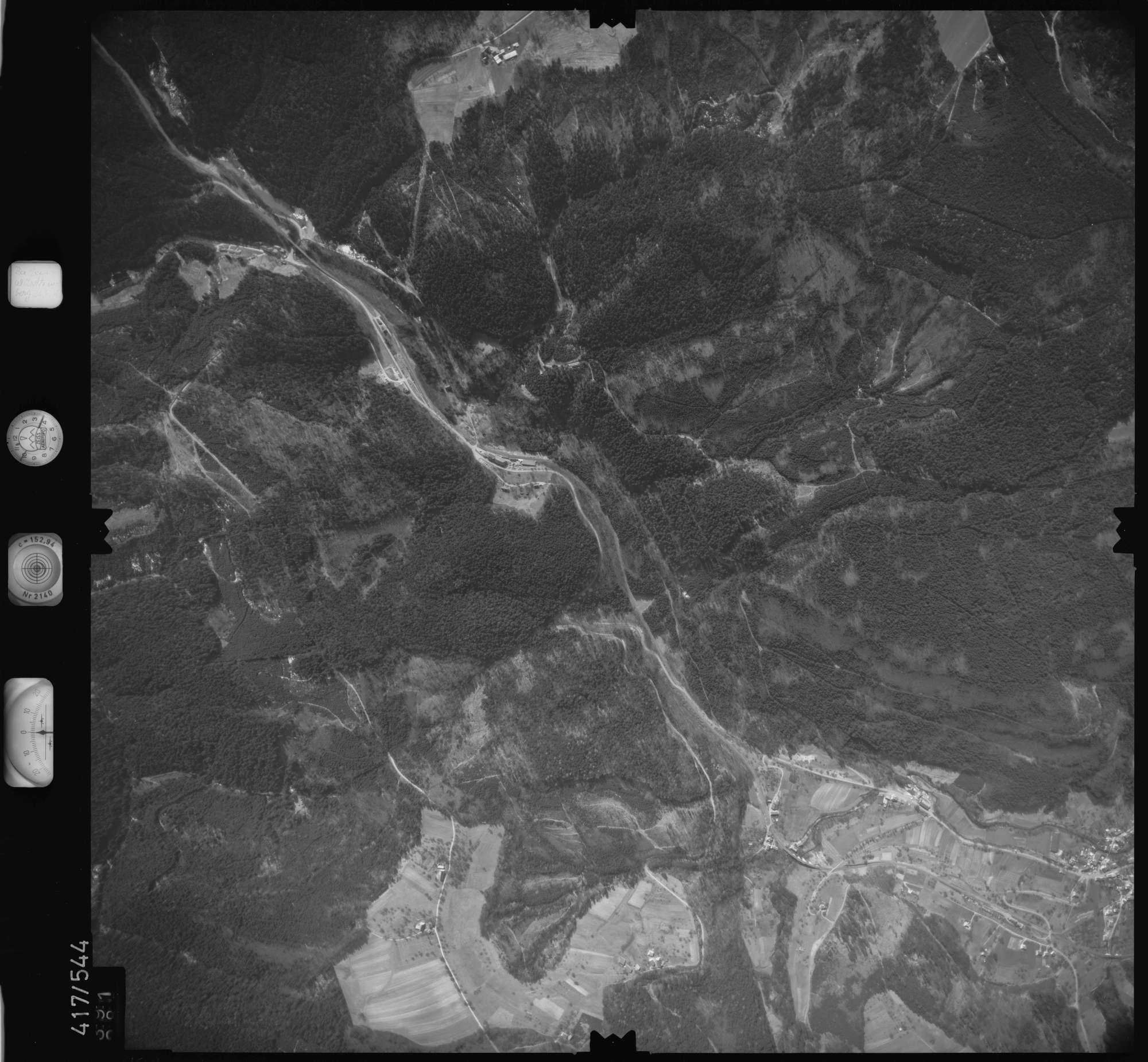 Luftbild: Film 6 Bildnr. 391, Bild 1