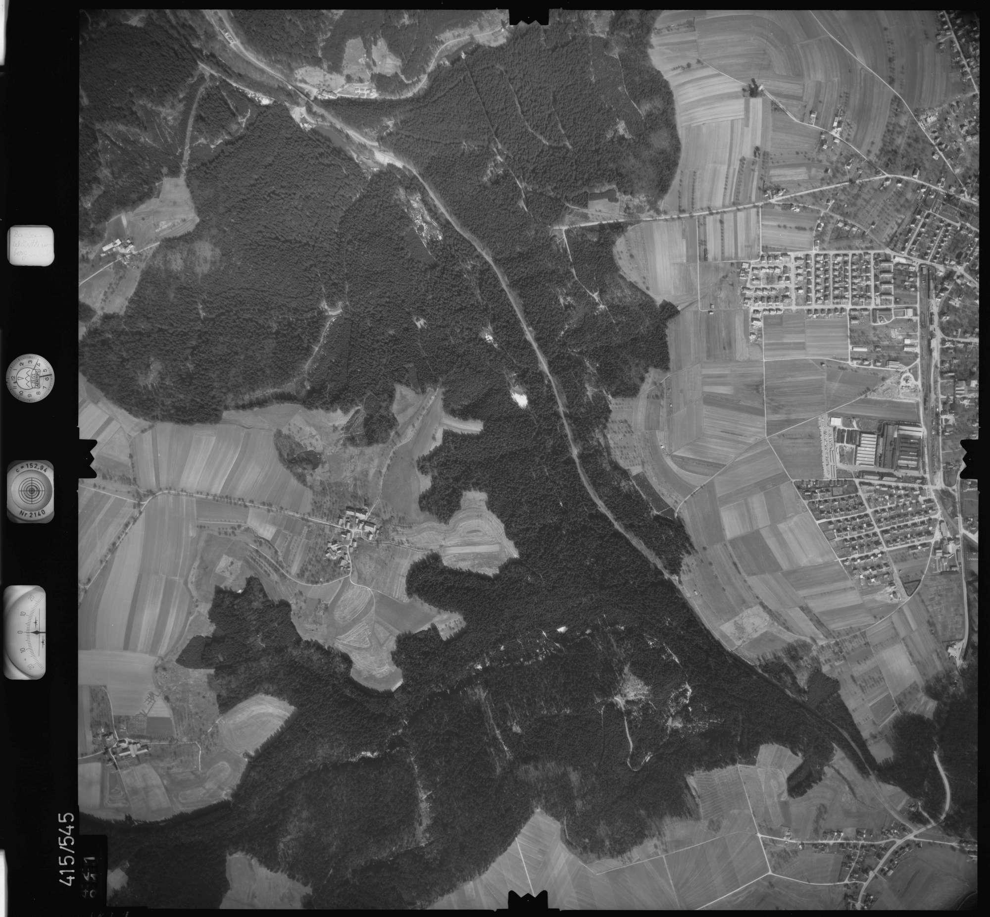 Luftbild: Film 6 Bildnr. 421, Bild 1