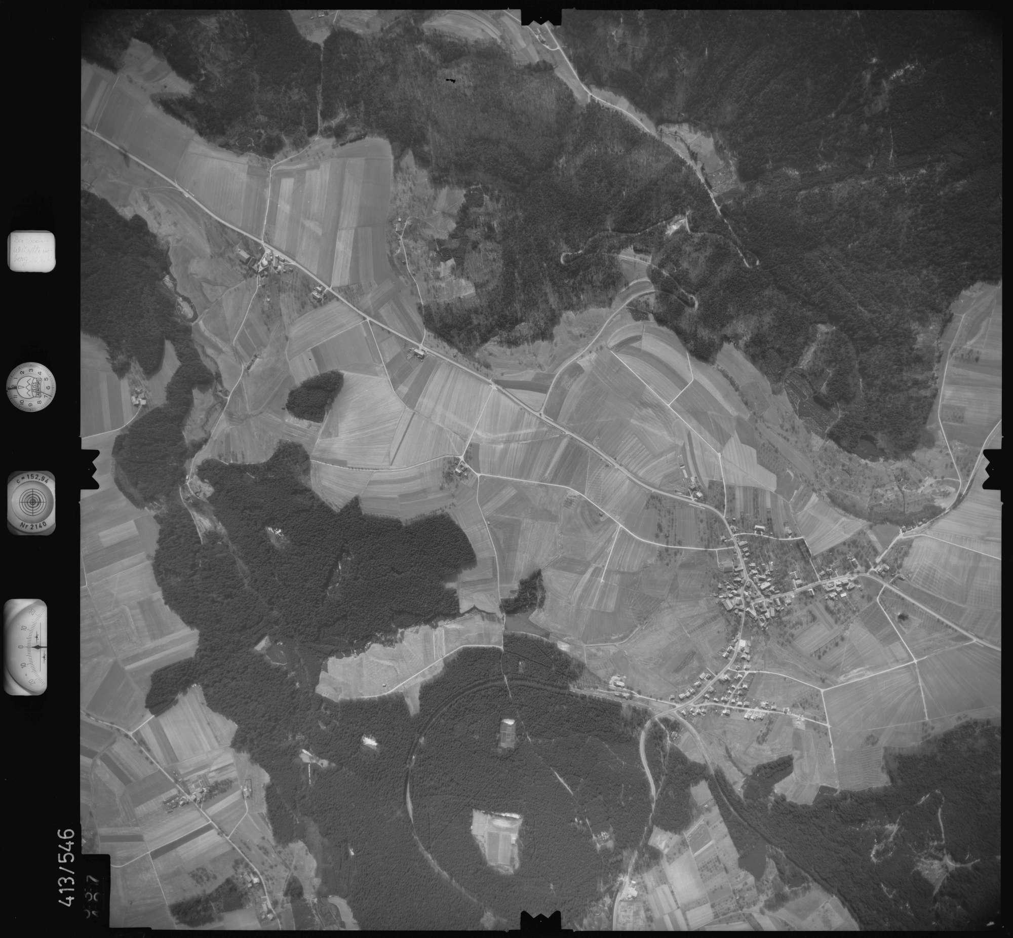 Luftbild: Film 6 Bildnr. 537, Bild 1