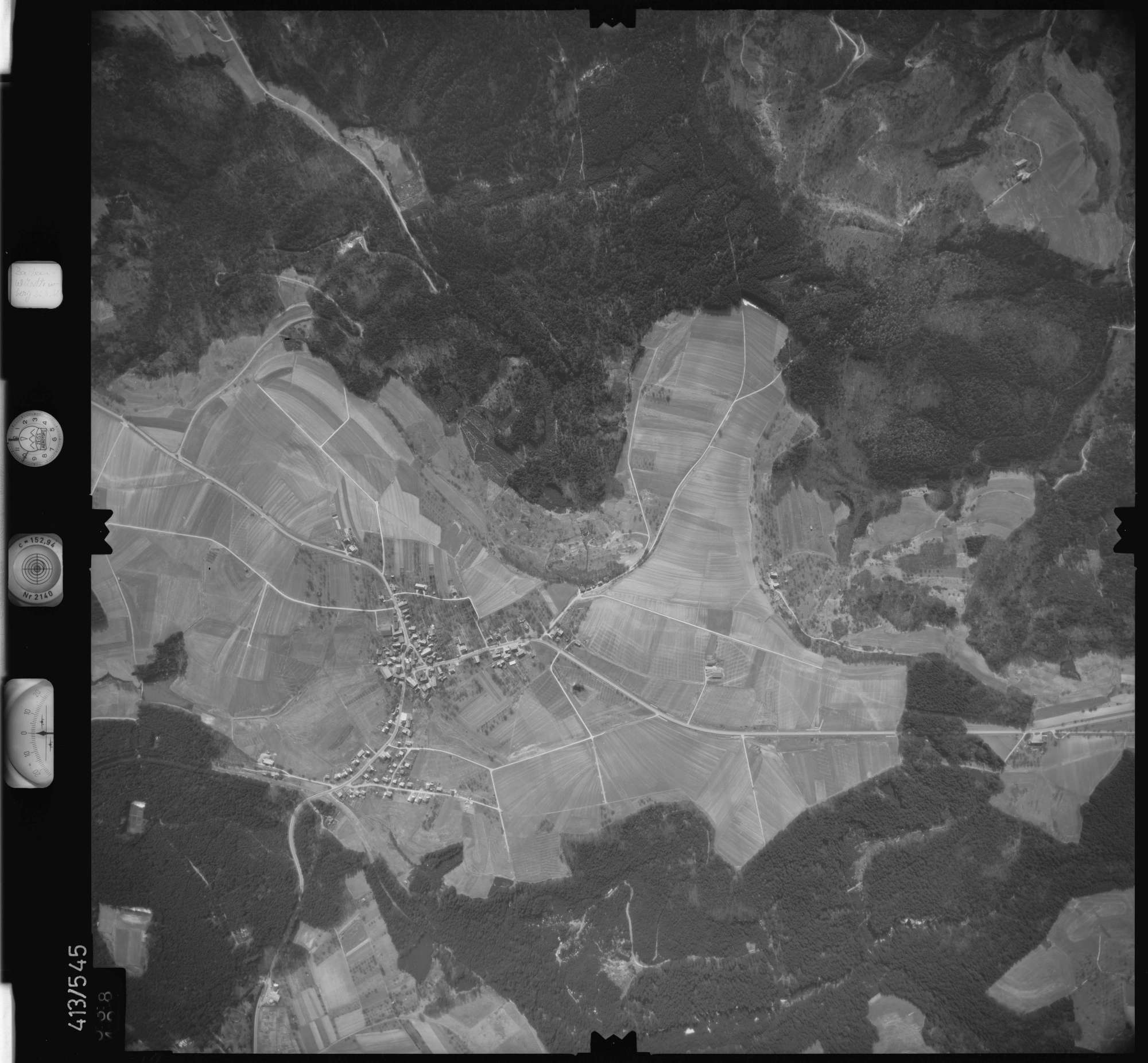 Luftbild: Film 6 Bildnr. 538, Bild 1
