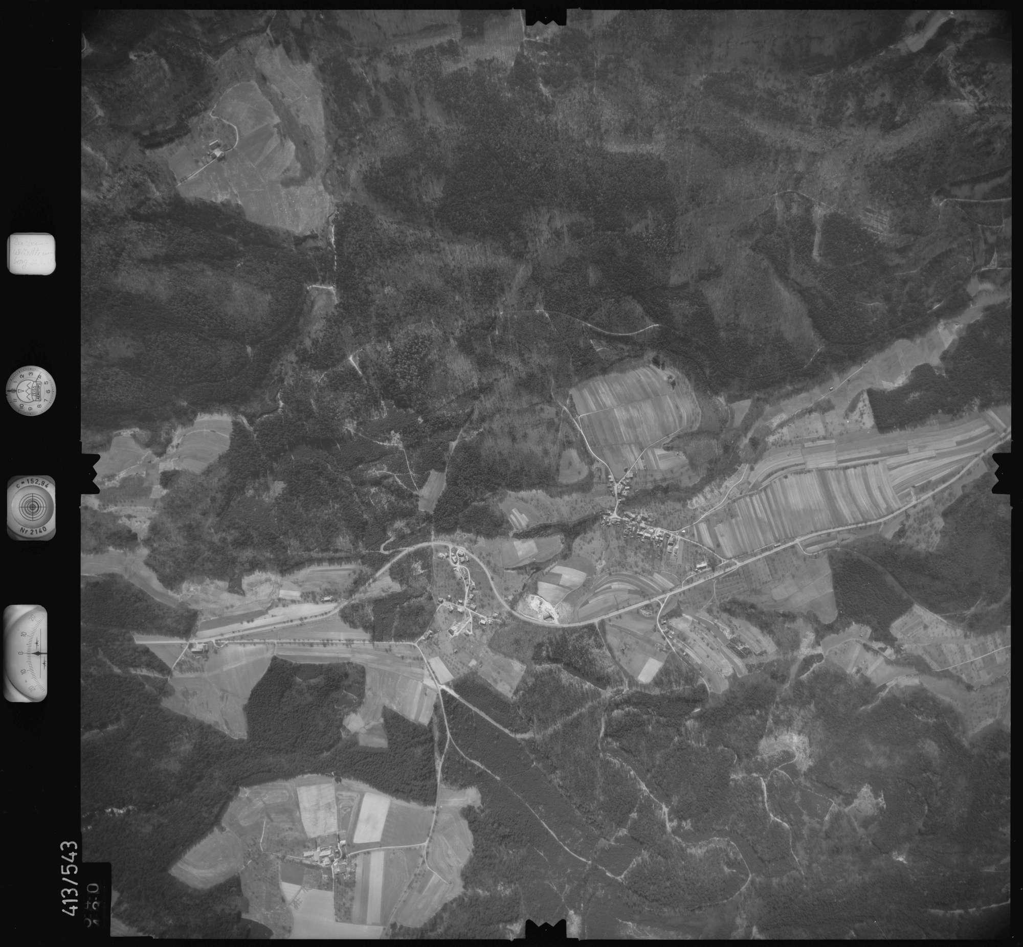 Luftbild: Film 6 Bildnr. 540, Bild 1