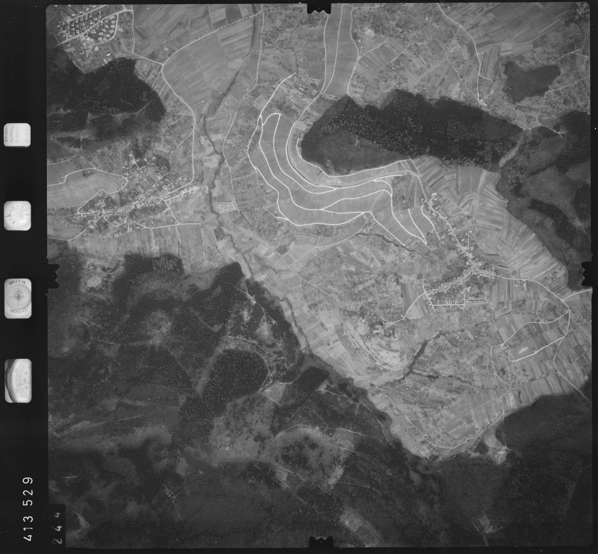 Luftbild: Film 5 Bildnr. 244, Bild 1