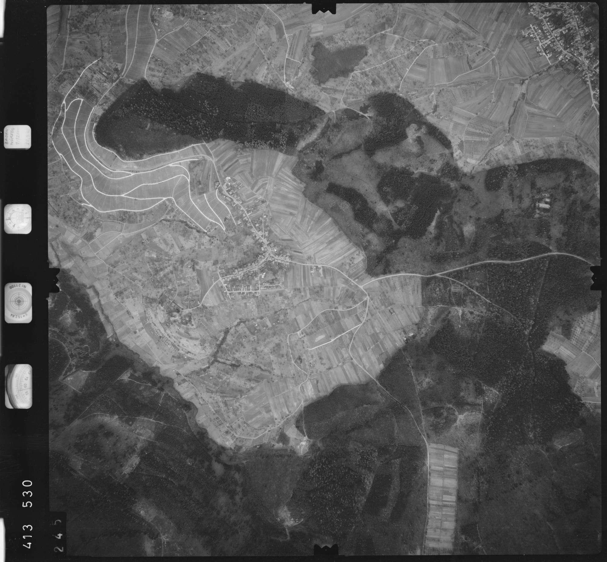 Luftbild: Film 5 Bildnr. 245, Bild 1