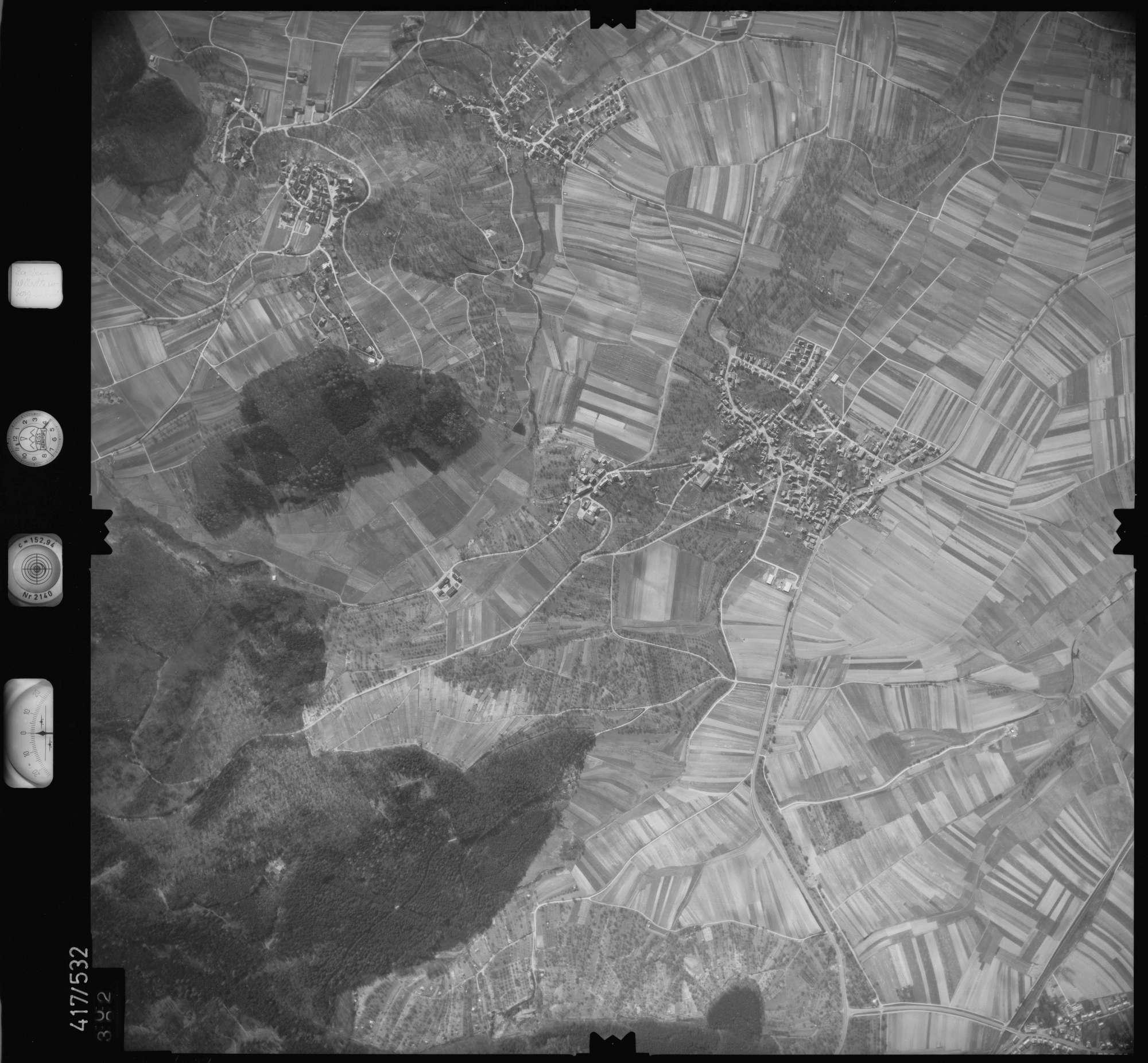 Luftbild: Film 6 Bildnr. 402, Bild 1