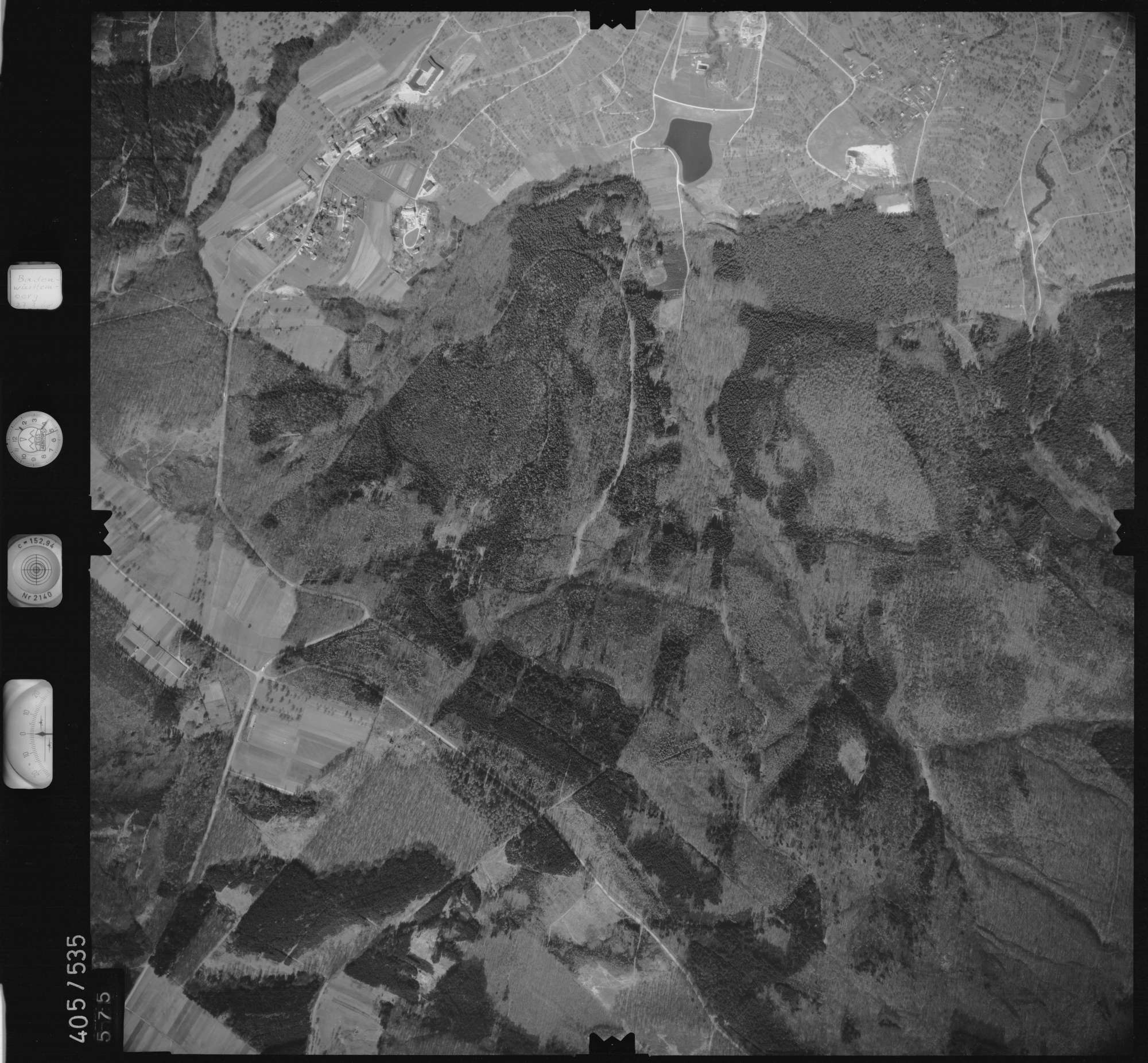 Luftbild: Film 10 Bildnr. 575, Bild 1