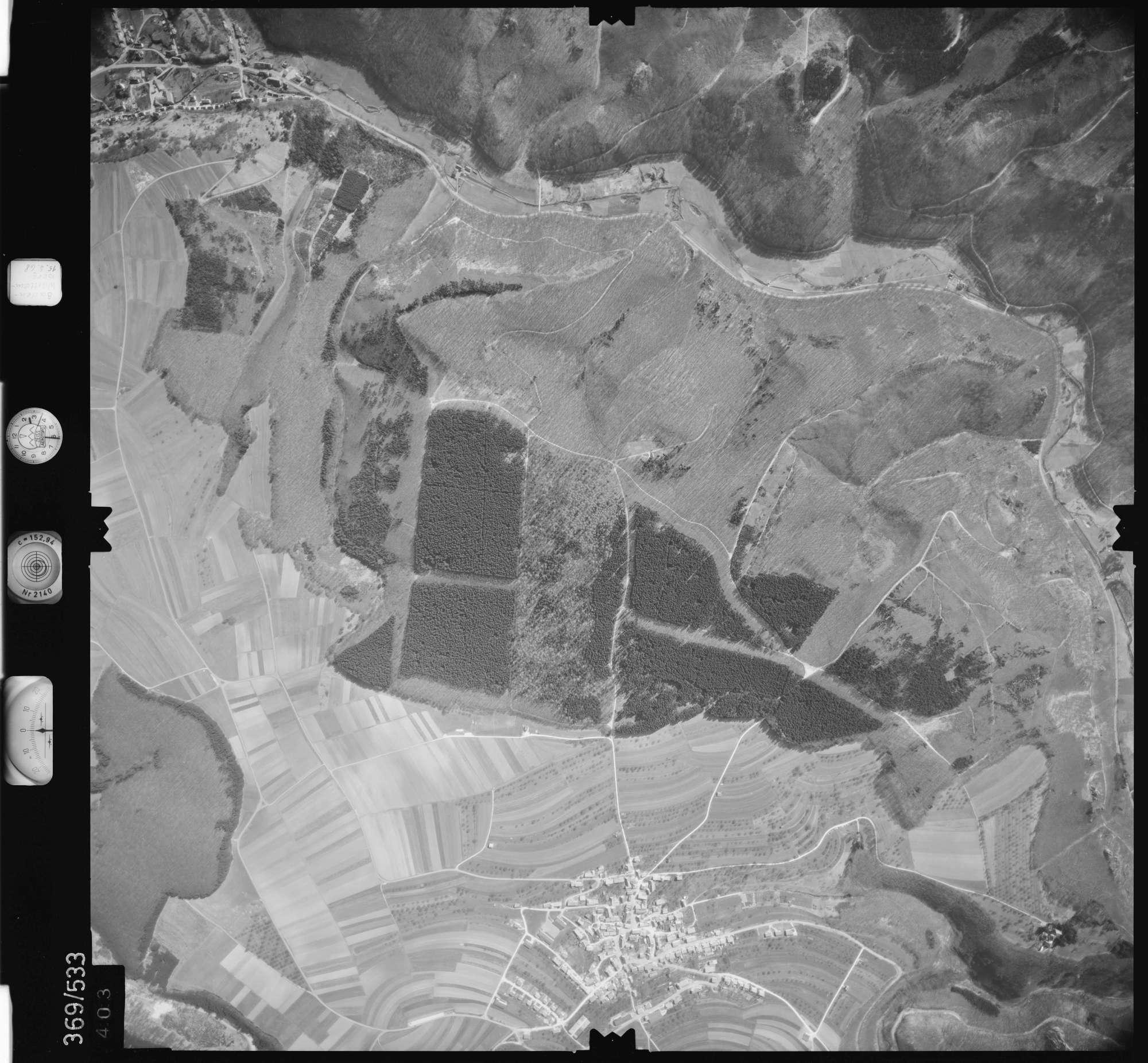 Luftbild: Film 34 Bildnr. 403, Bild 1