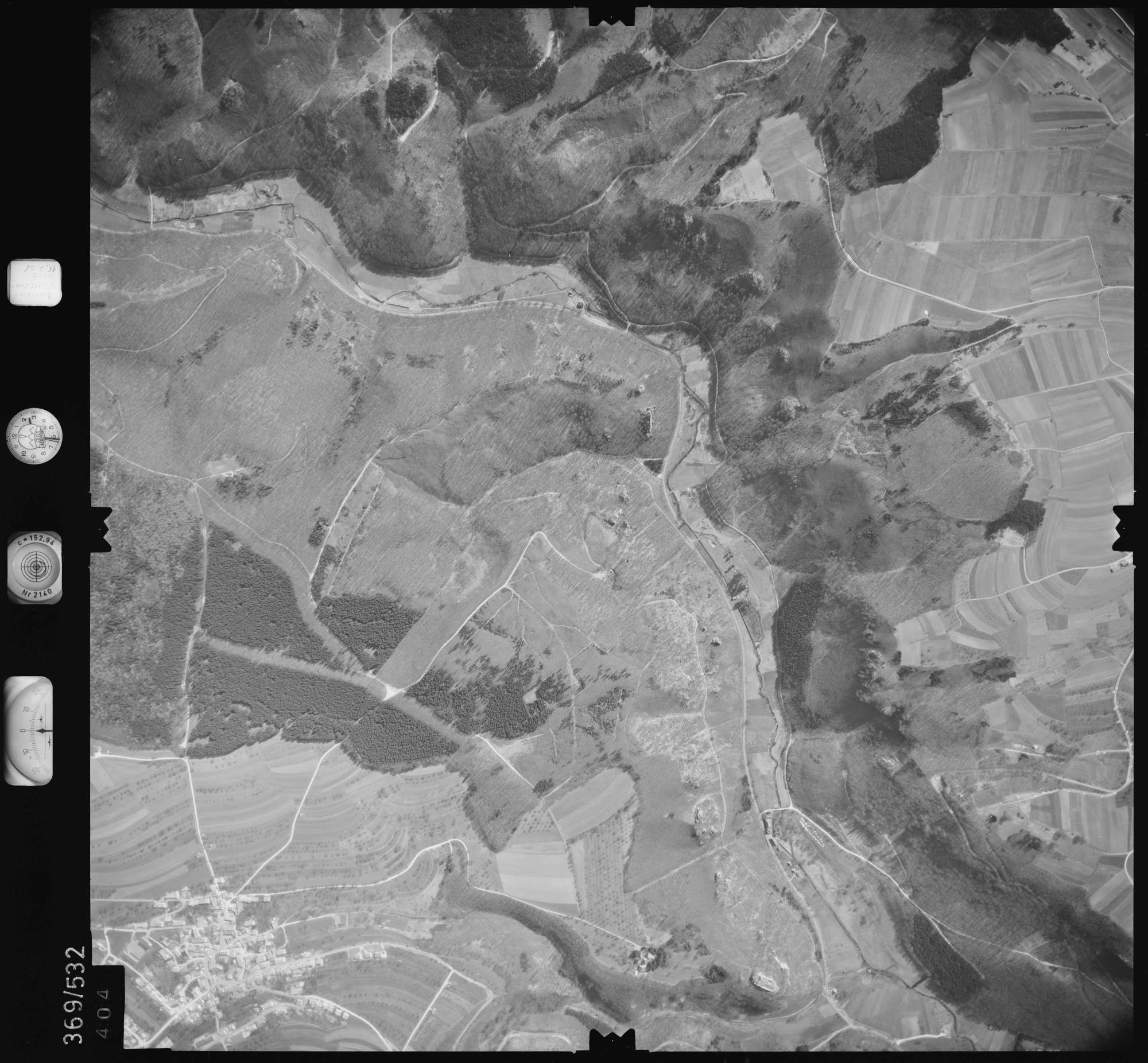 Luftbild: Film 34 Bildnr. 404, Bild 1