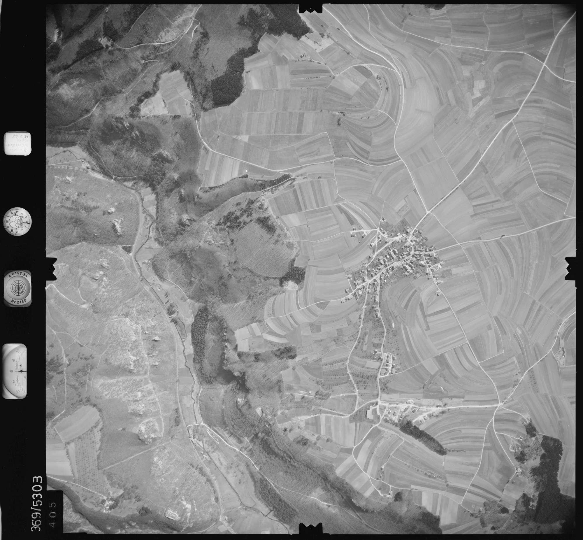 Luftbild: Film 34 Bildnr. 405, Bild 1