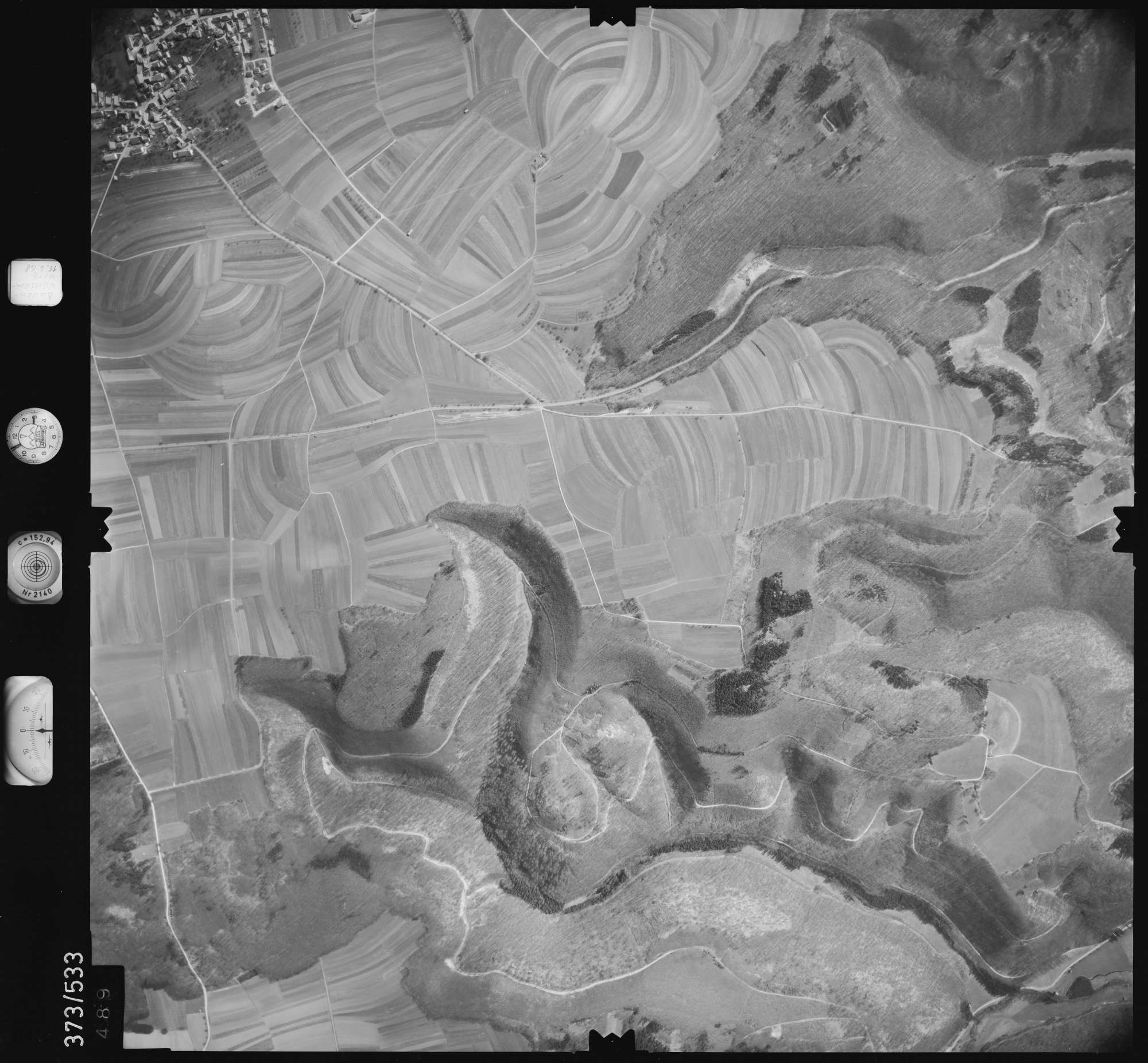 Luftbild: Film 34 Bildnr. 489, Bild 1