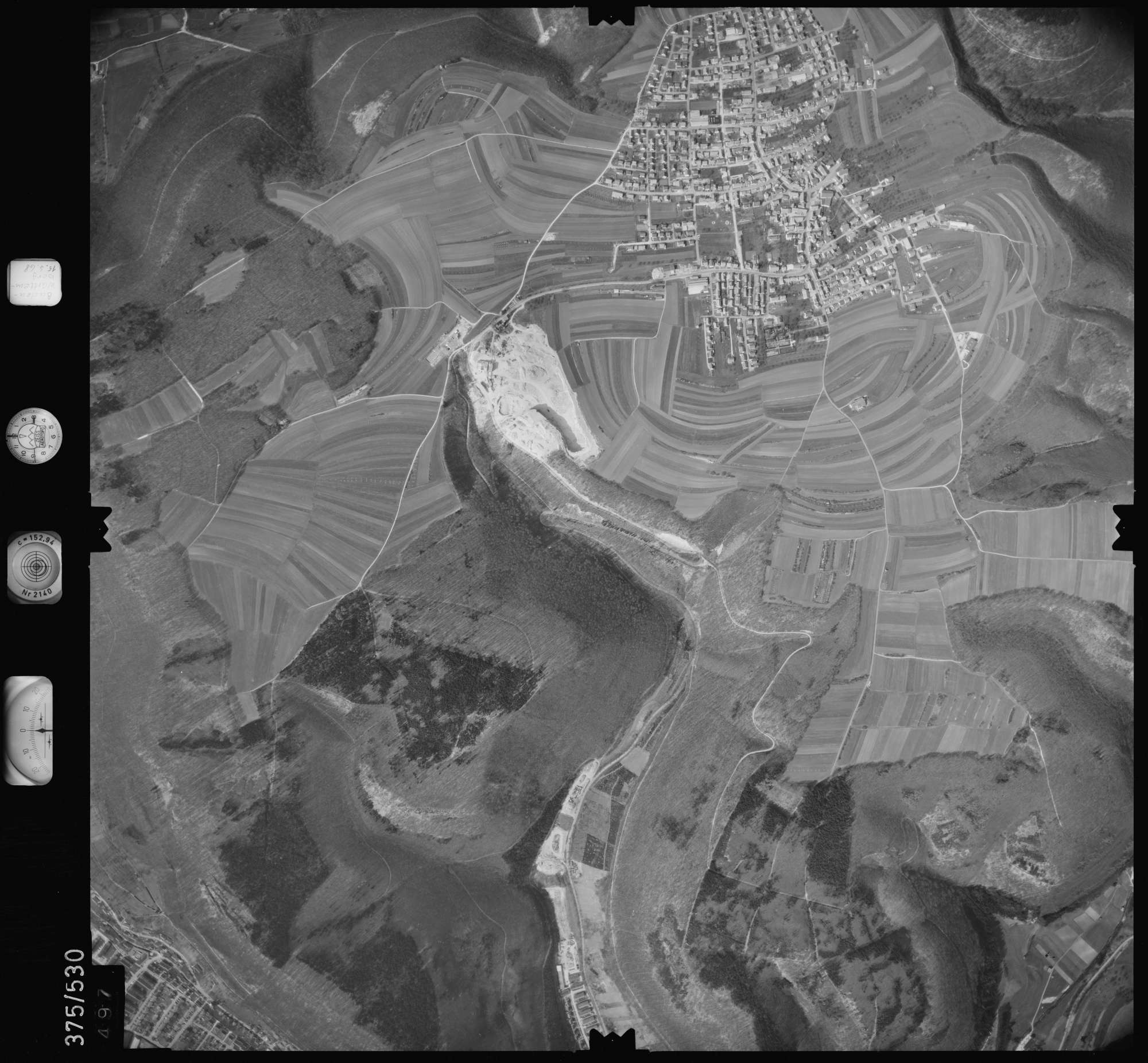 Luftbild: Film 34 Bildnr. 497, Bild 1