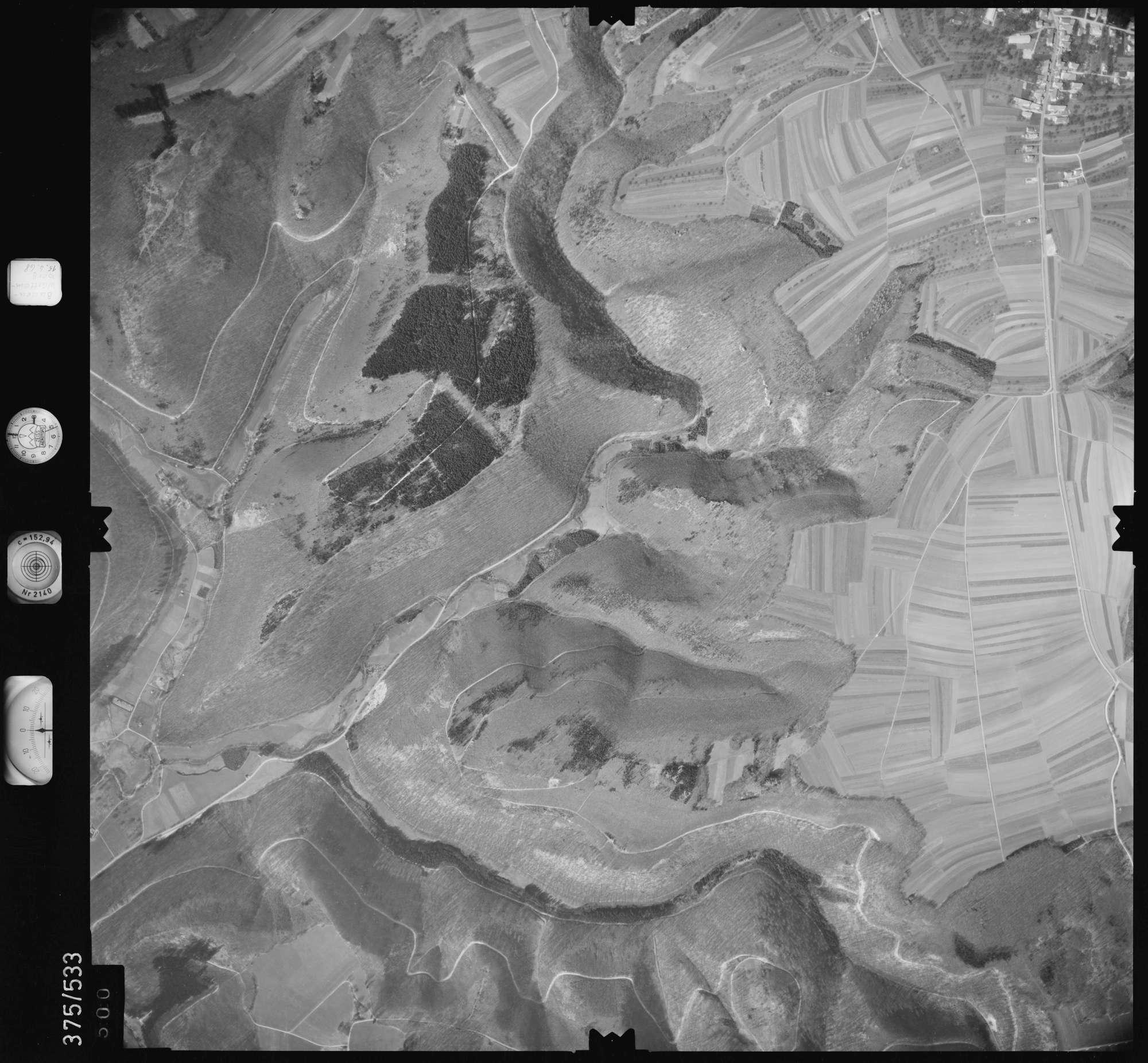 Luftbild: Film 34 Bildnr. 500, Bild 1