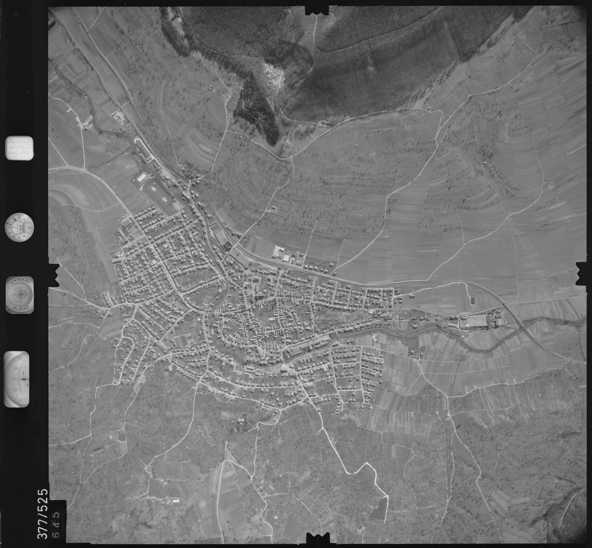 Luftbild: Film 31 Bildnr. 645, Bild 1