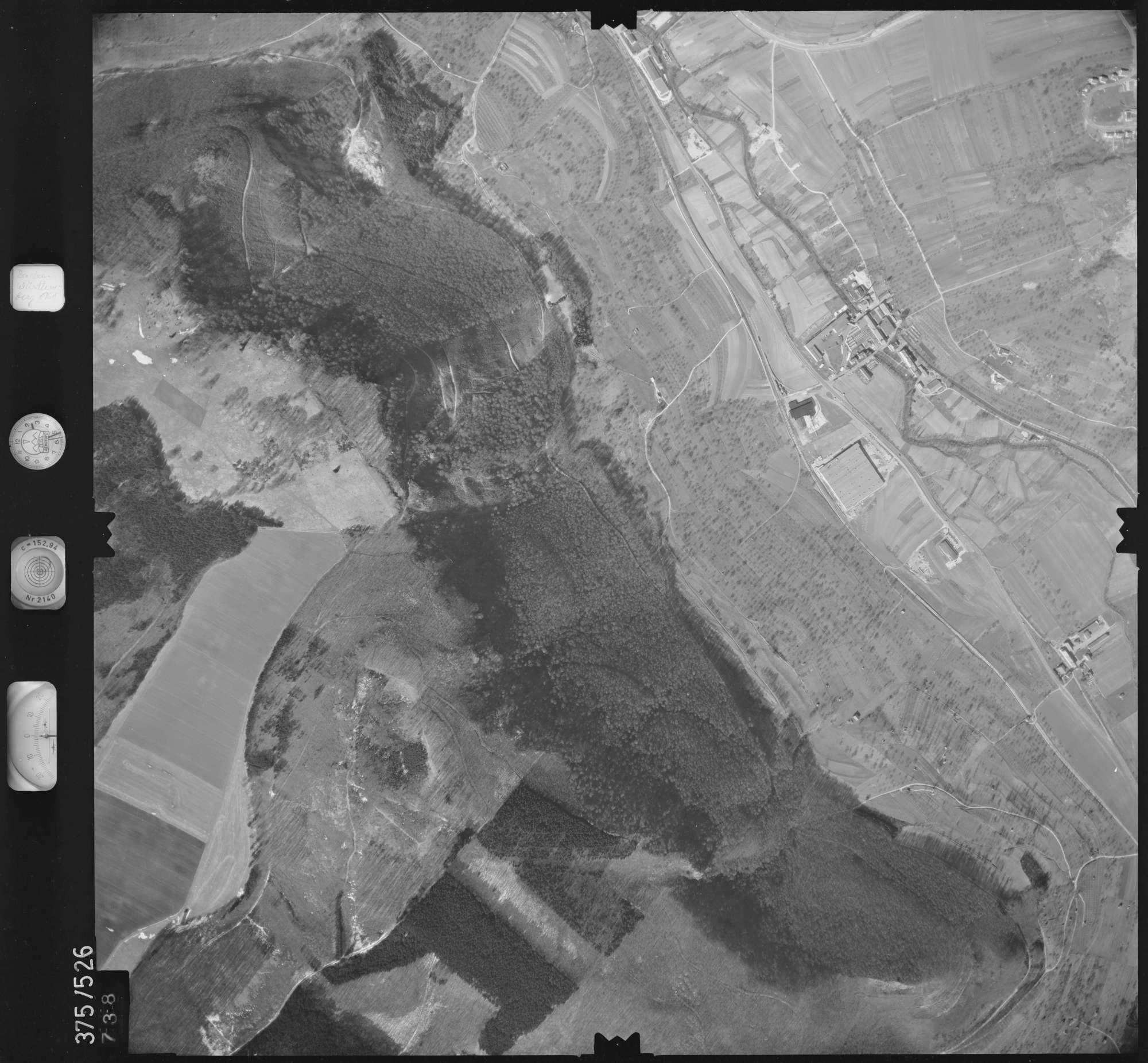 Luftbild: Film 31 Bildnr. 738, Bild 1