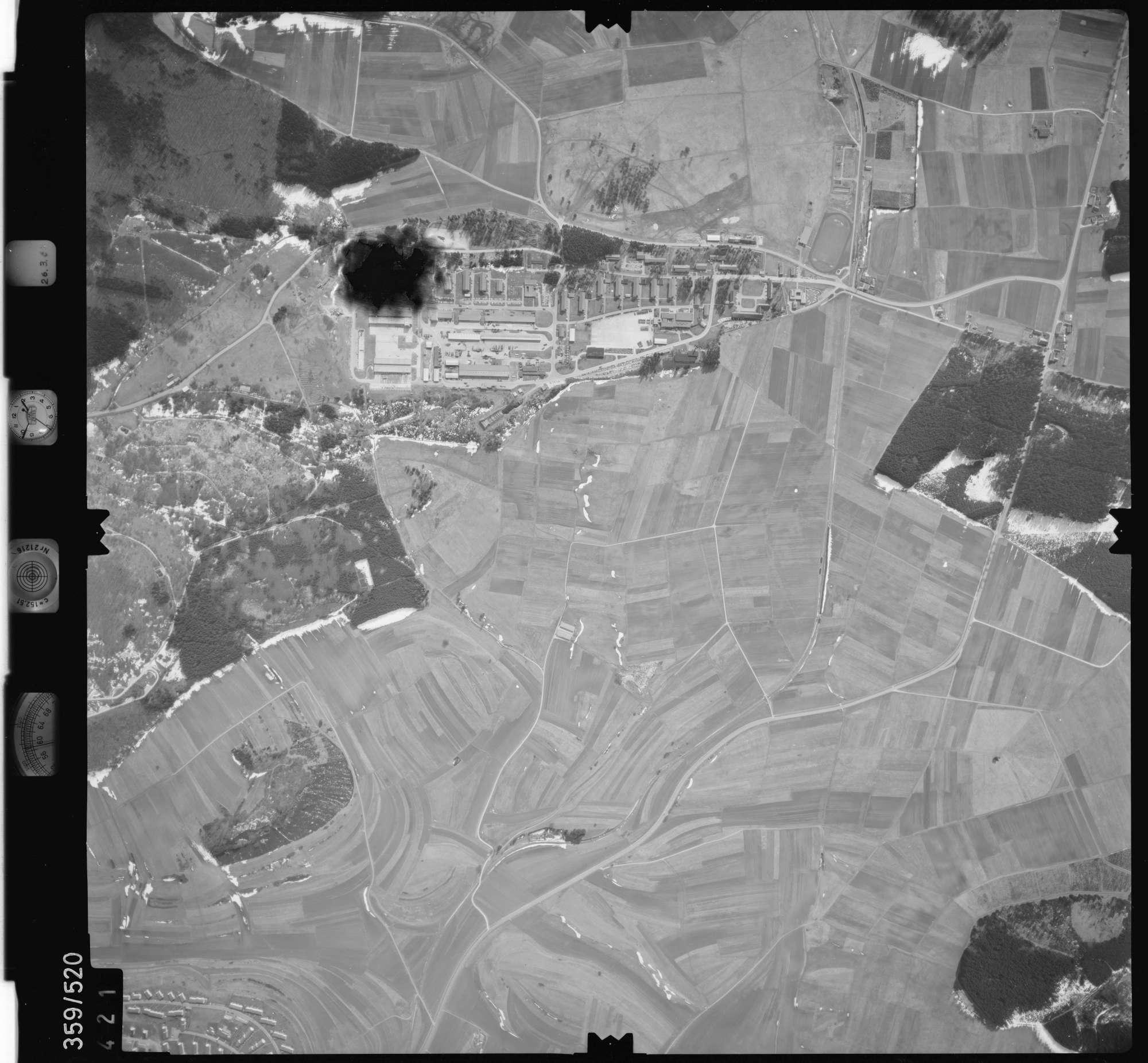 Luftbild: Film 20 Bildnr. 421, Bild 1