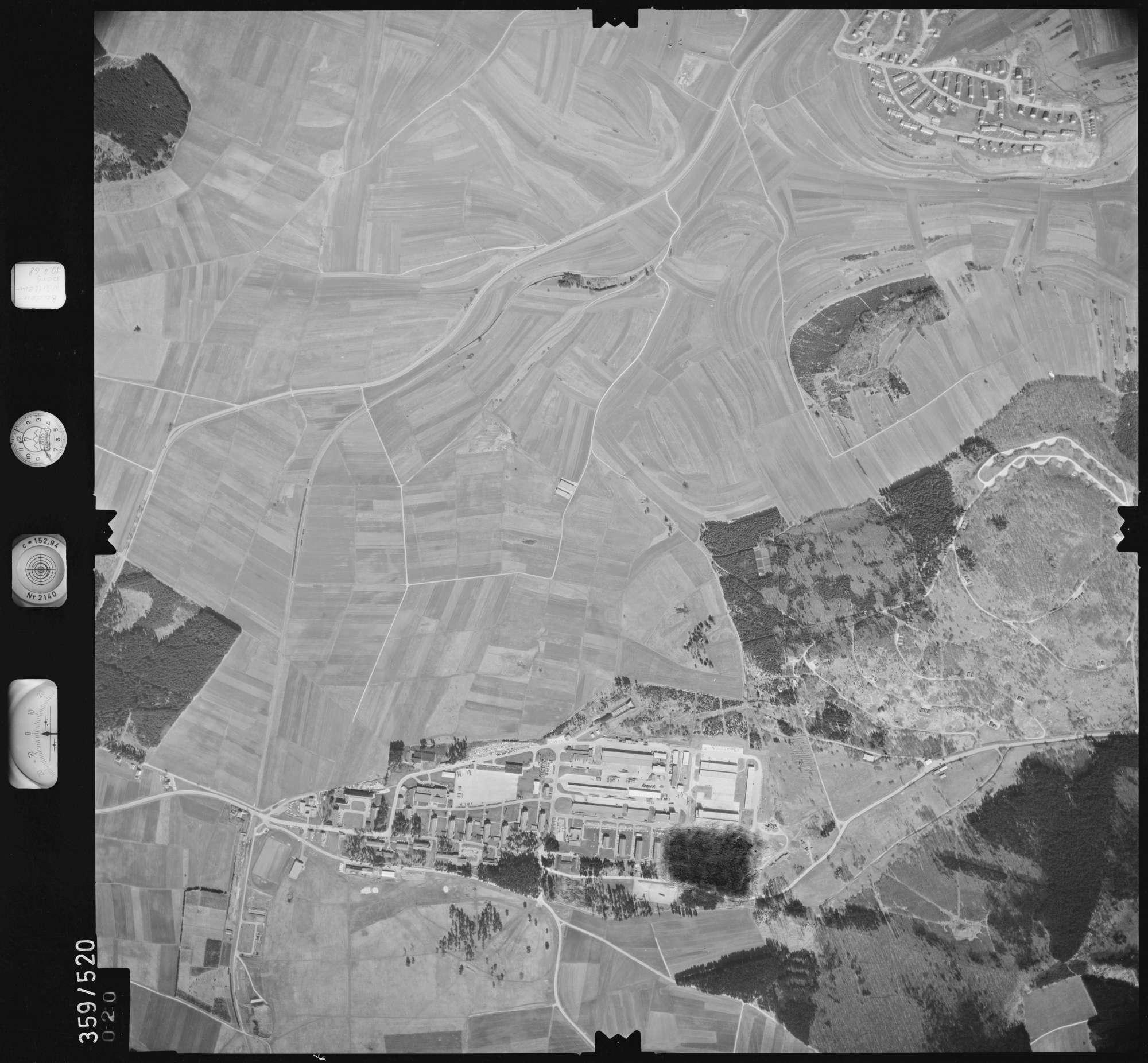 Luftbild: Film 38 Bildnr. 20, Bild 1