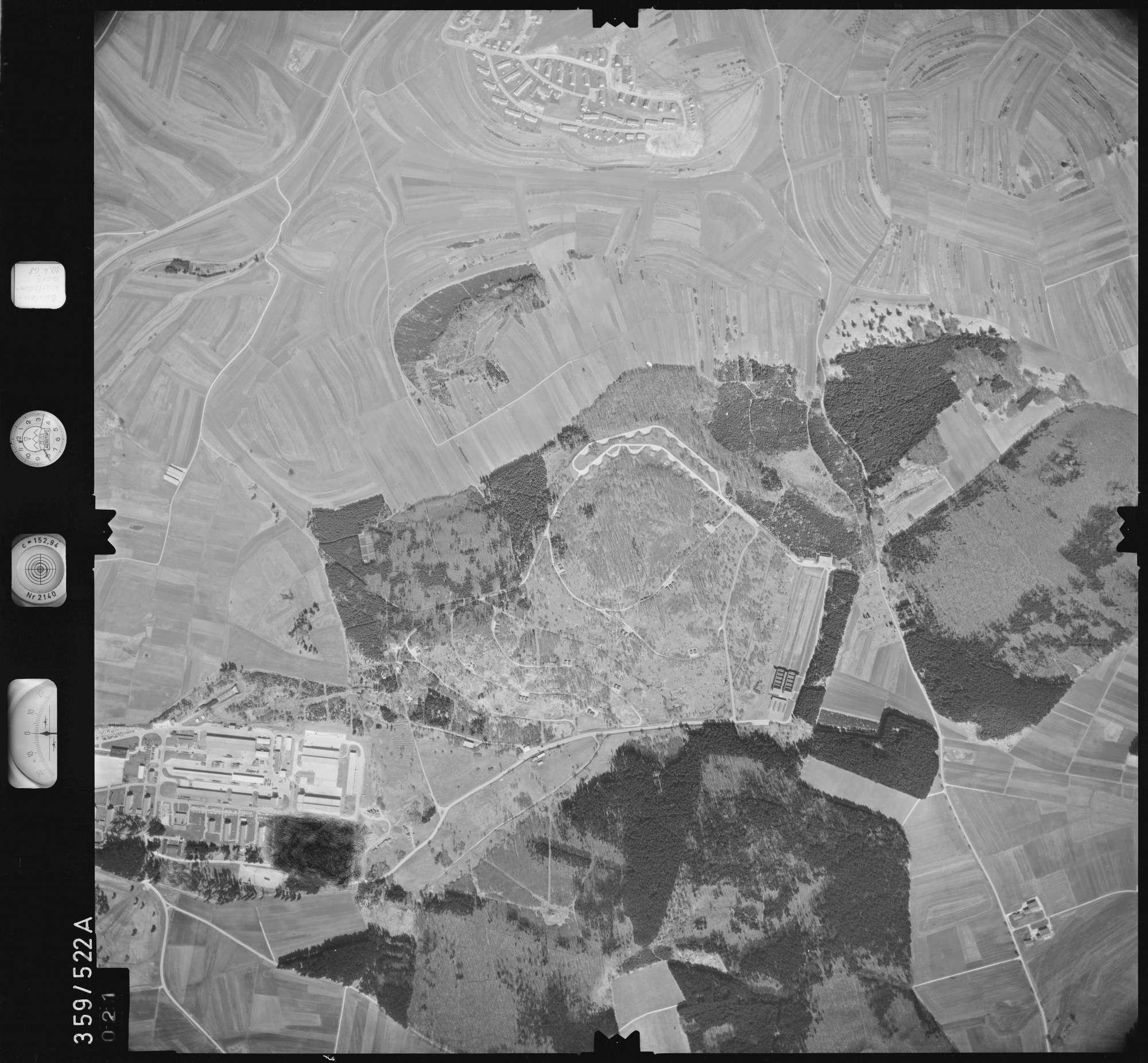 Luftbild: Film 38 Bildnr. 21, Bild 1