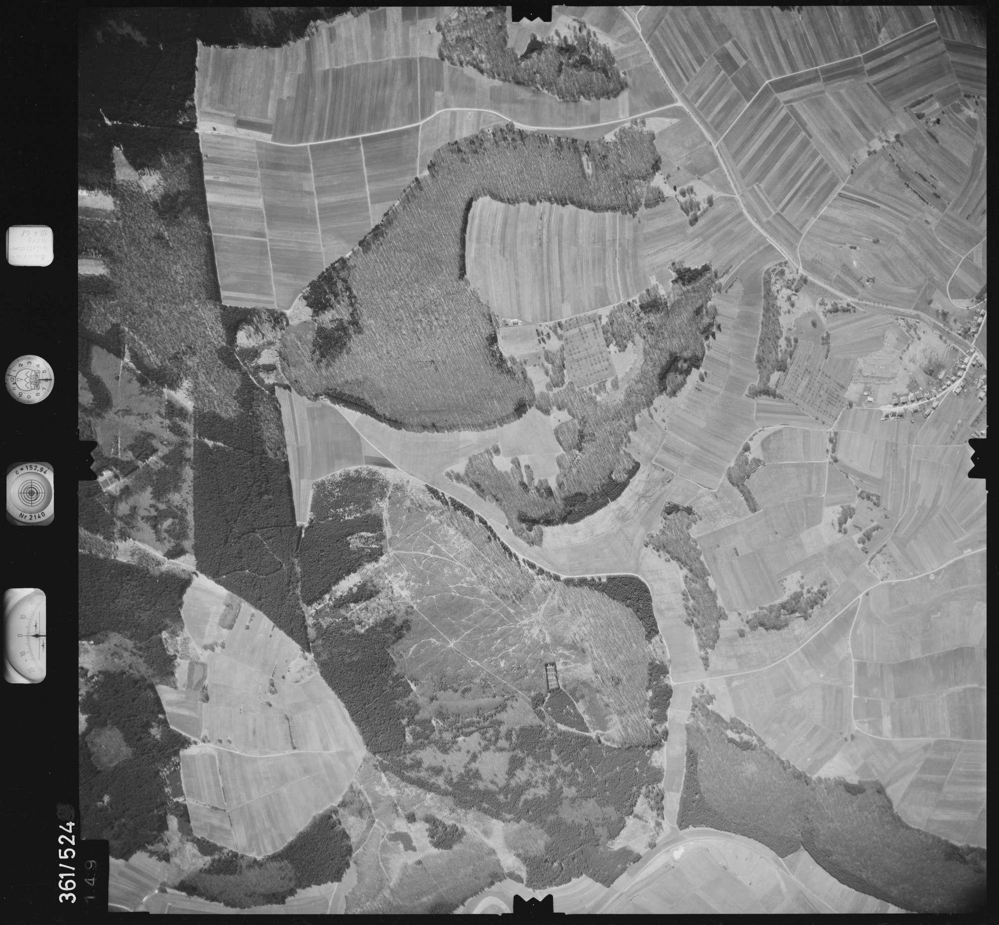 Luftbild: Film 40 Bildnr. 149, Bild 1