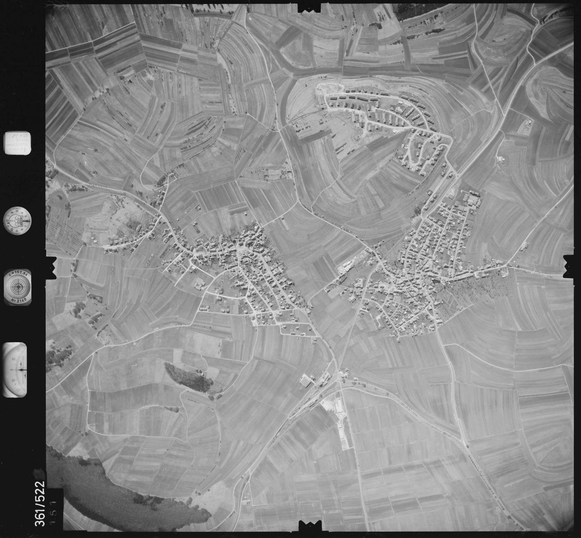 Luftbild: Film 40 Bildnr. 151, Bild 1