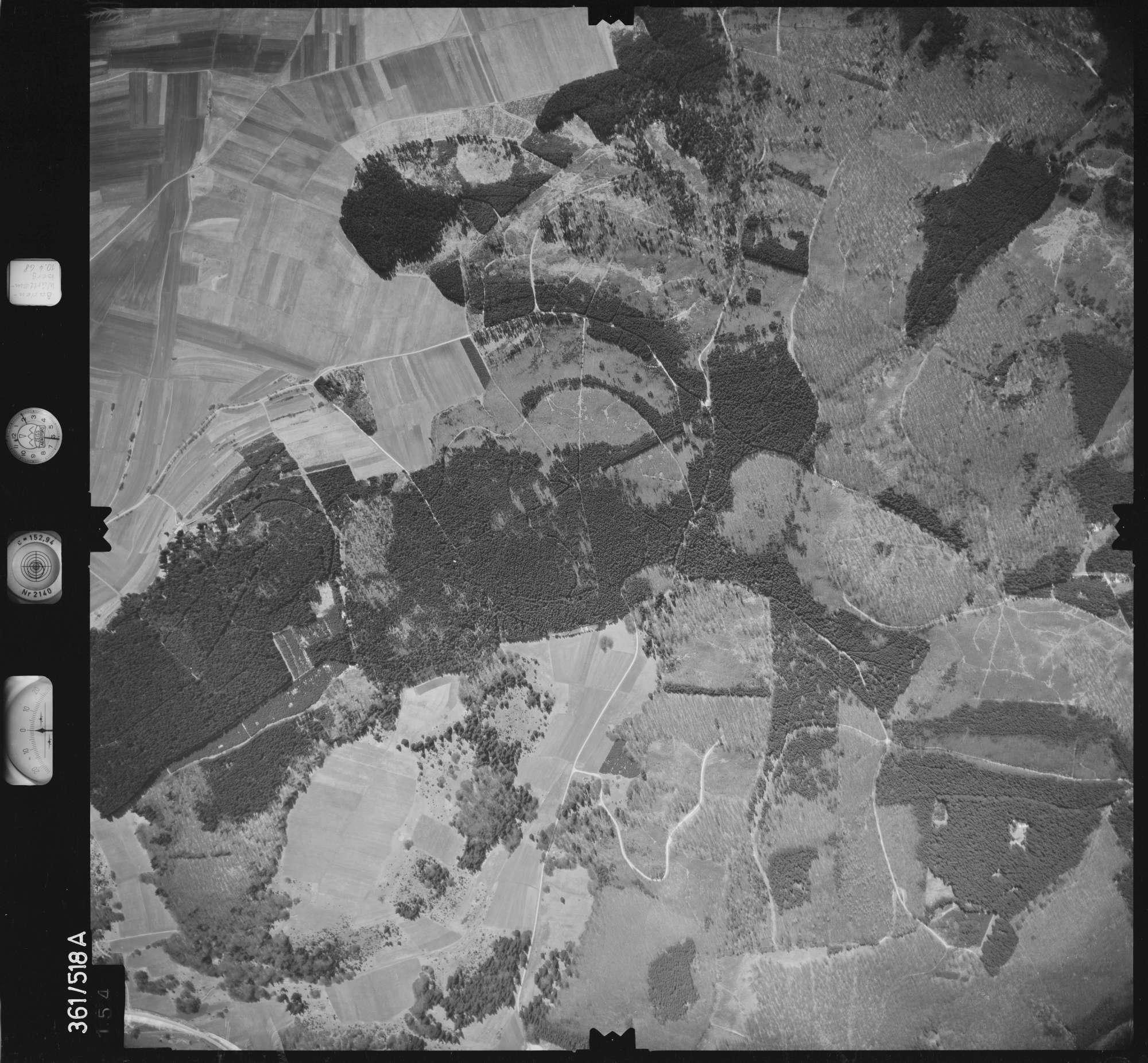 Luftbild: Film 40 Bildnr. 154, Bild 1