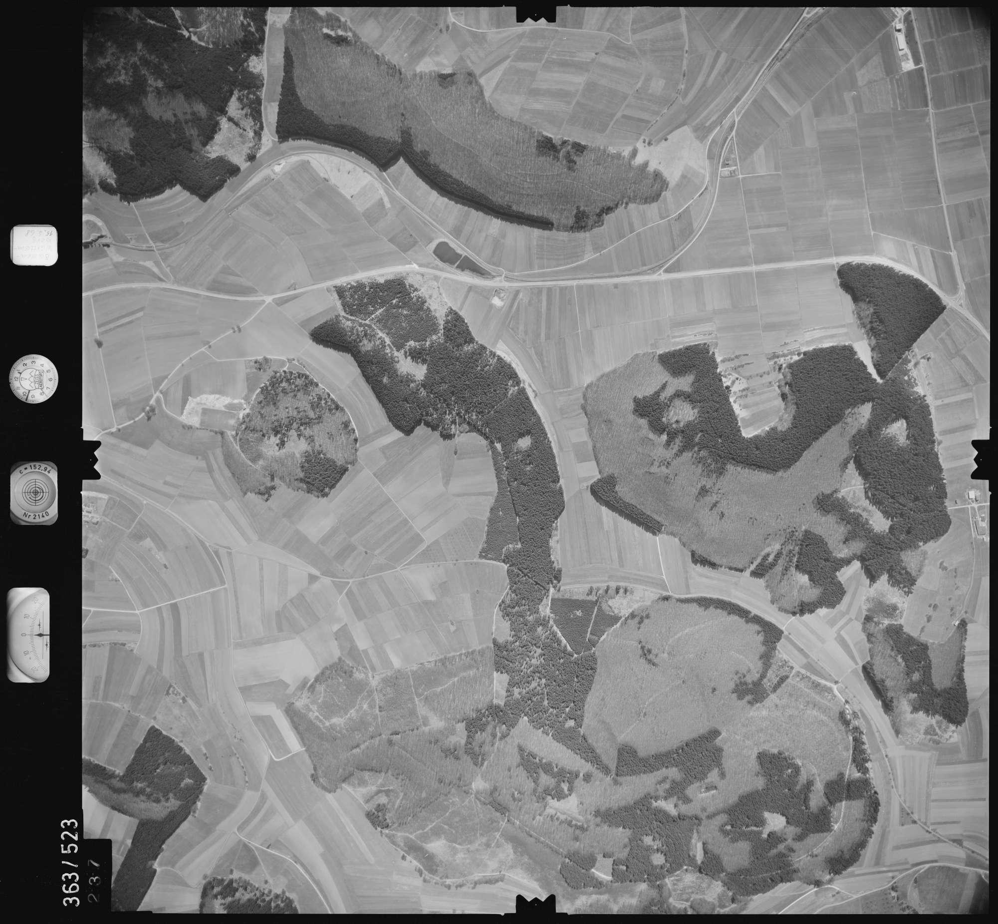 Luftbild: Film 45 Bildnr. 237, Bild 1