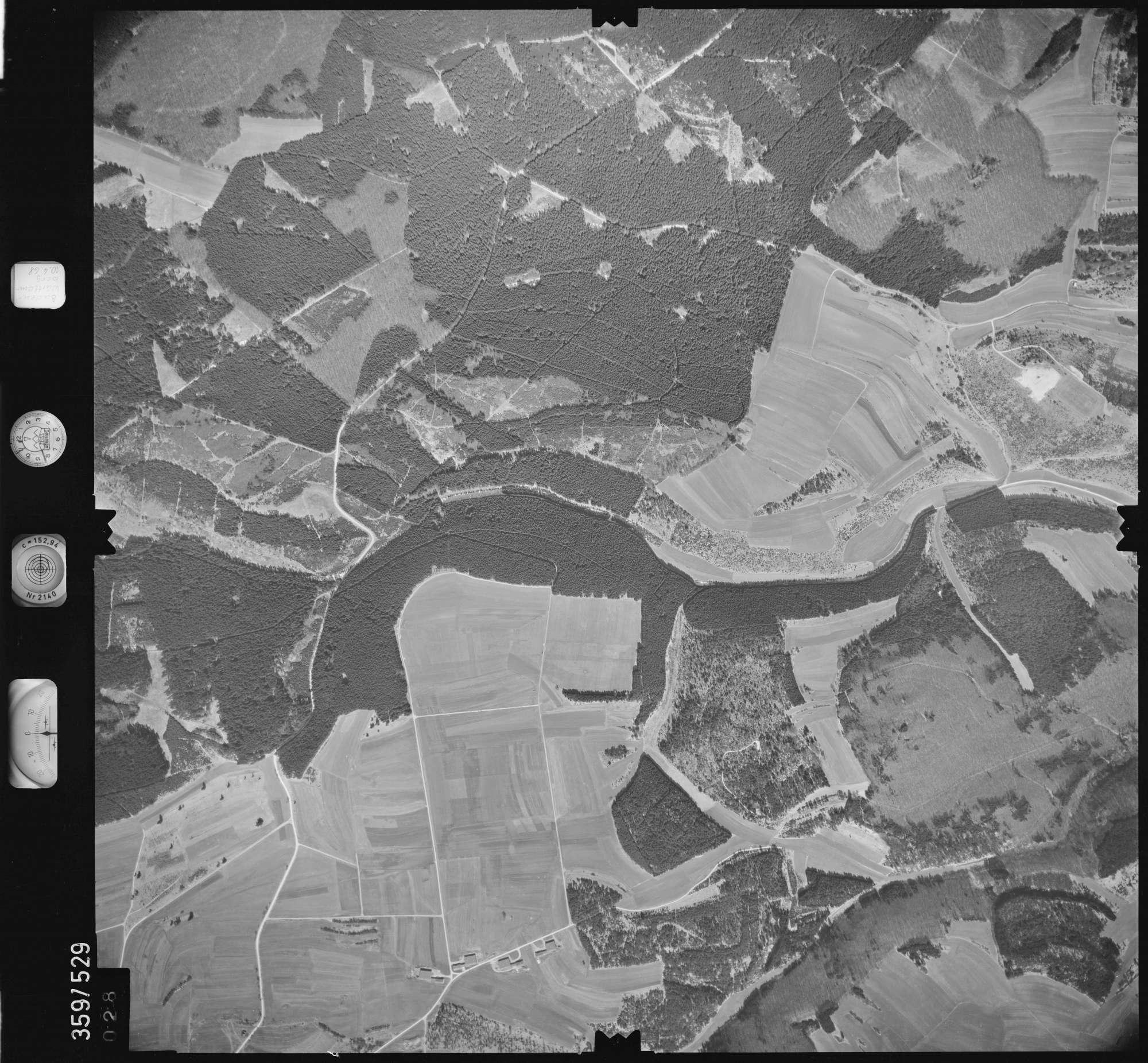 Luftbild: Film 38 Bildnr. 28, Bild 1