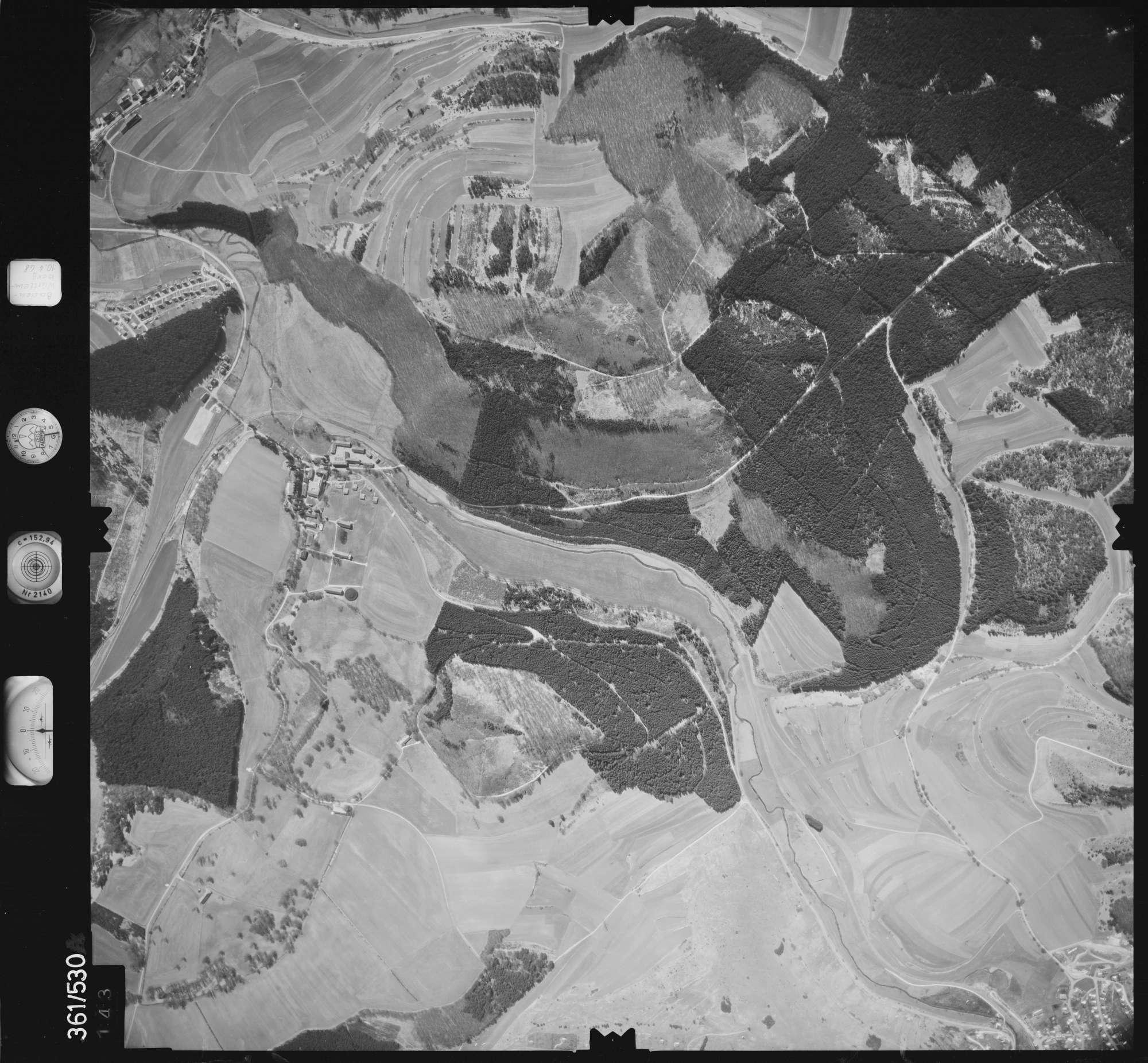 Luftbild: Film 40 Bildnr. 143, Bild 1