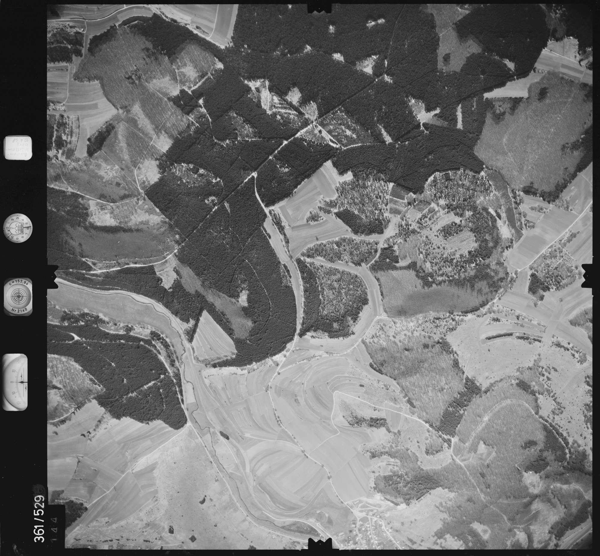 Luftbild: Film 40 Bildnr. 144, Bild 1