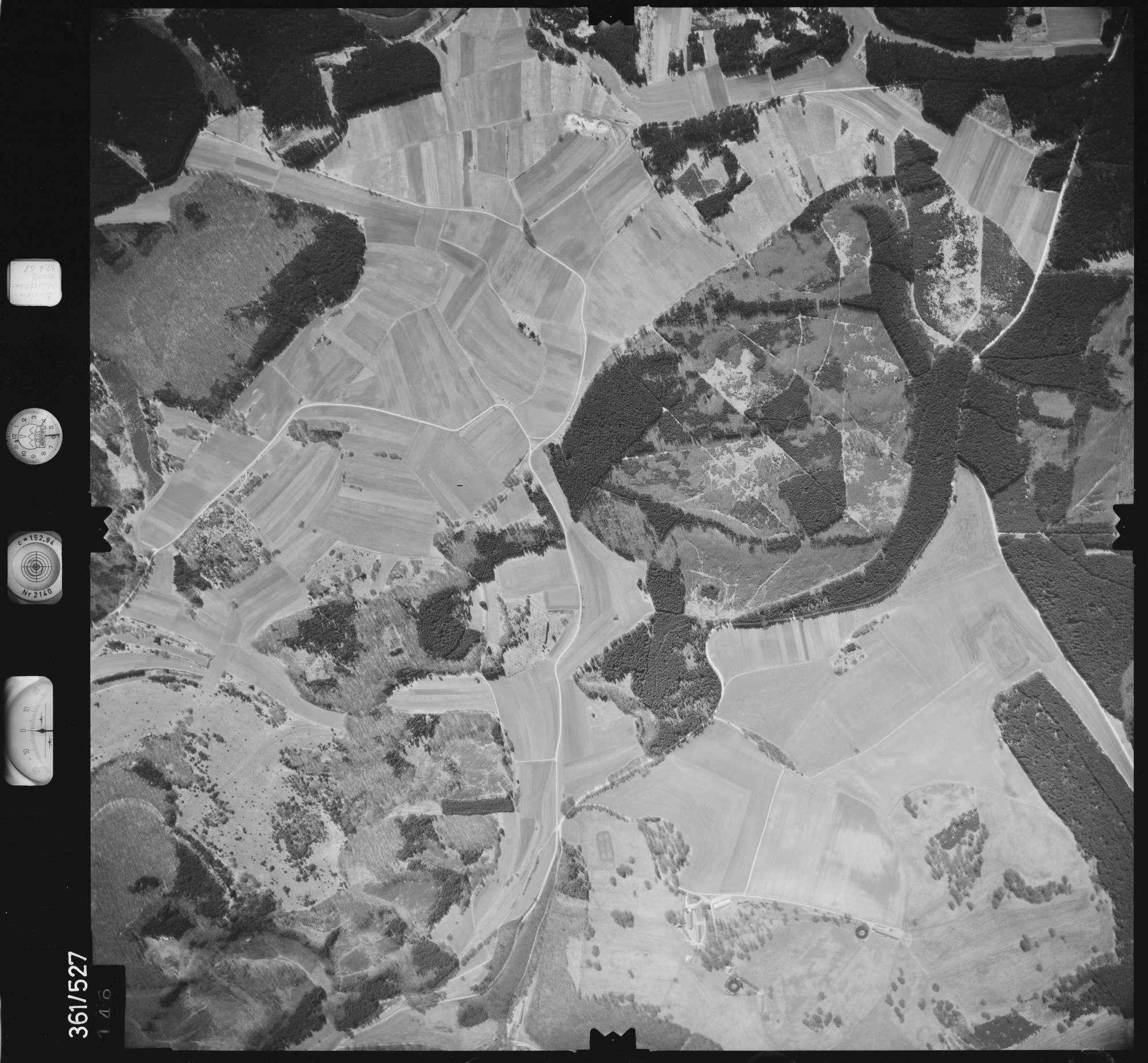 Luftbild: Film 40 Bildnr. 146, Bild 1