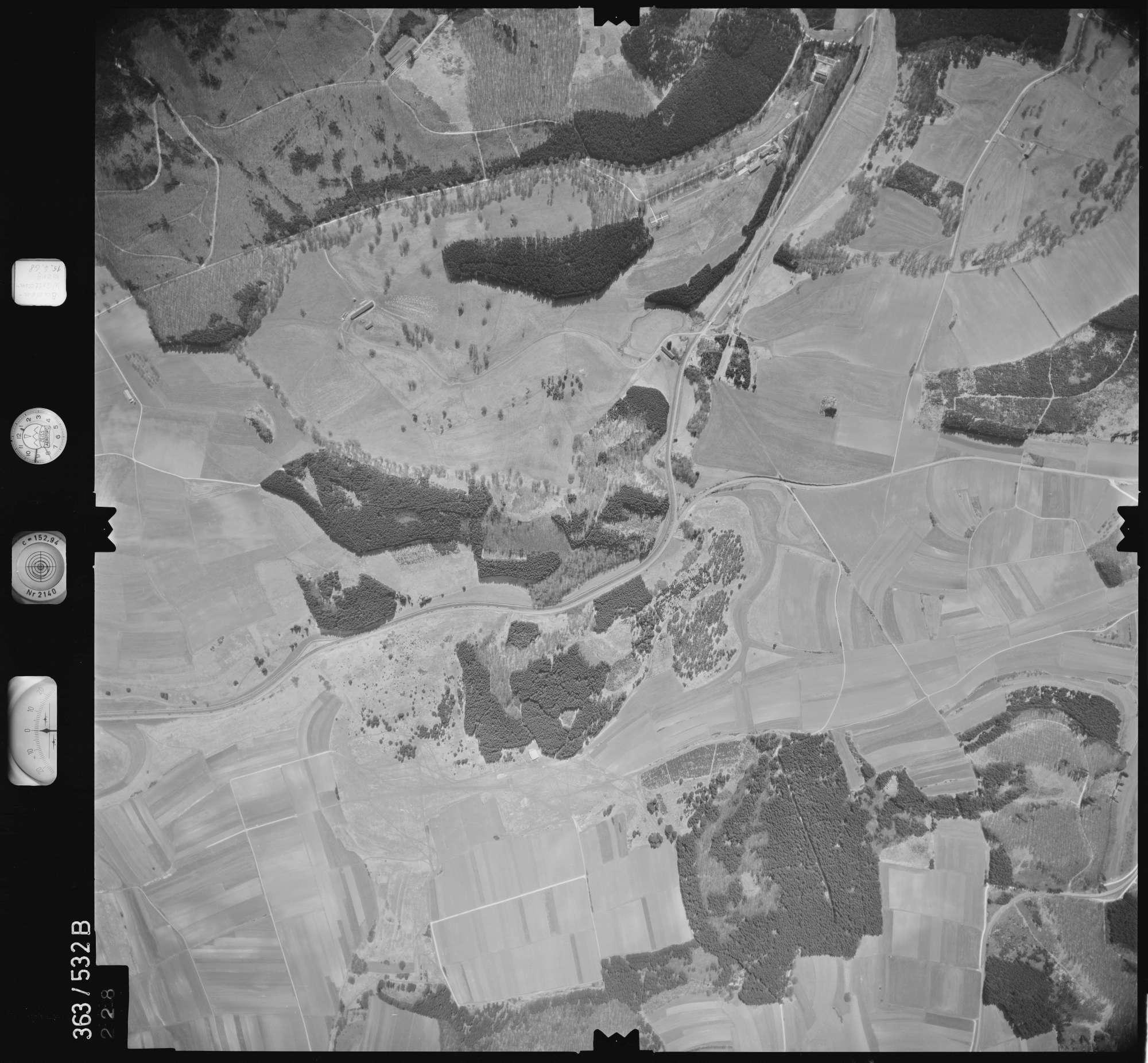 Luftbild: Film 45 Bildnr. 228, Bild 1