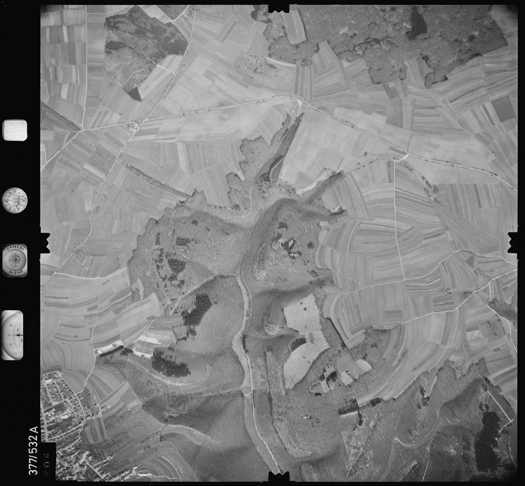 Luftbild: Film 32 Bildnr. 204, Bild 1