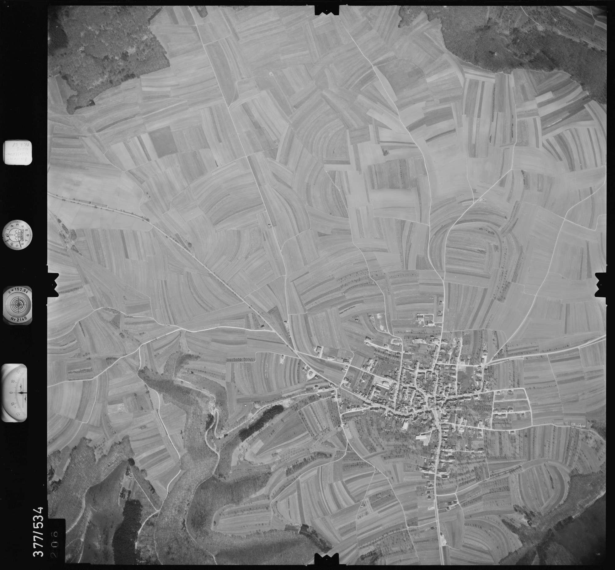 Luftbild: Film 32 Bildnr. 206, Bild 1