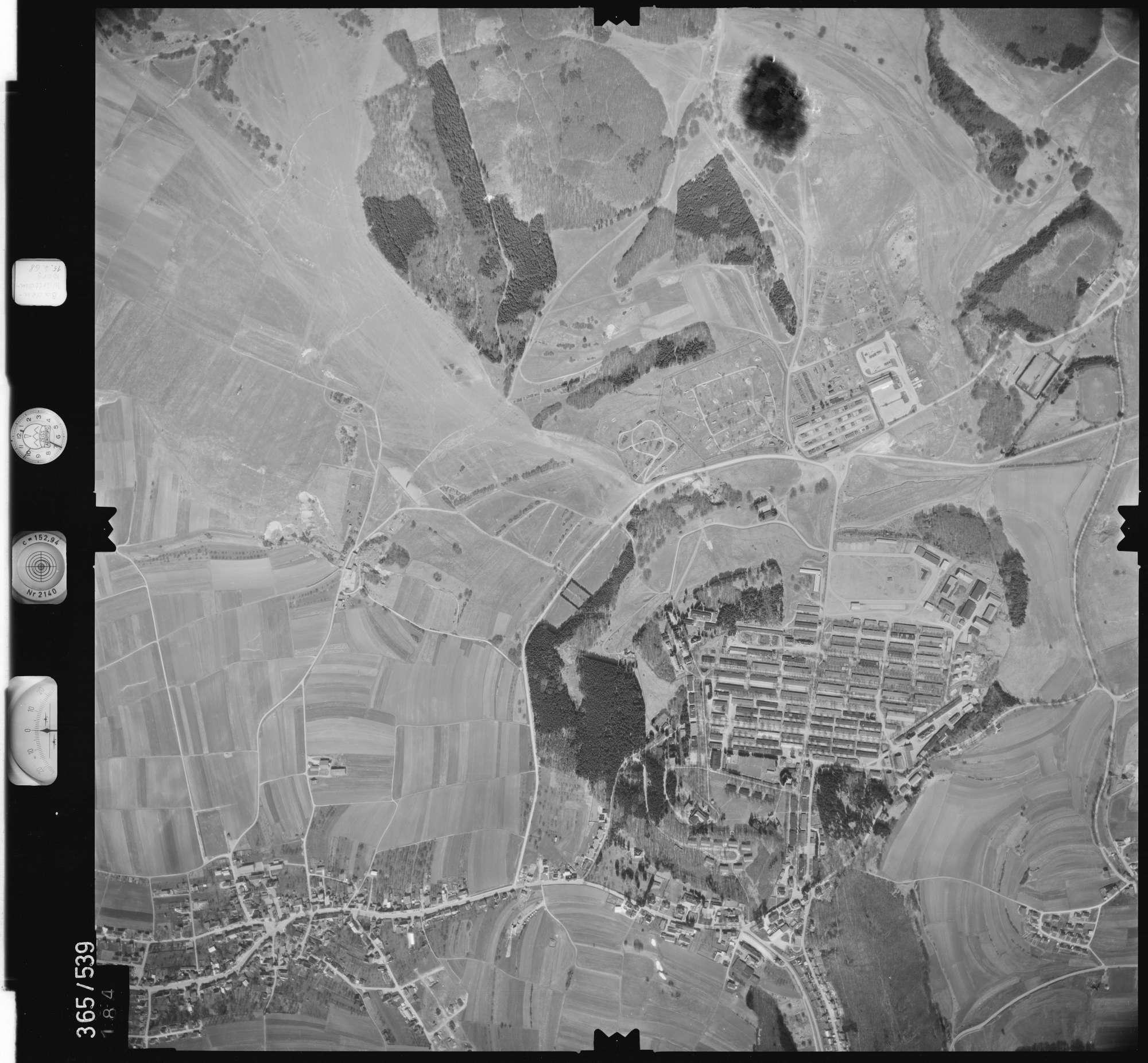 Luftbild: Film 45 Bildnr. 184, Bild 1