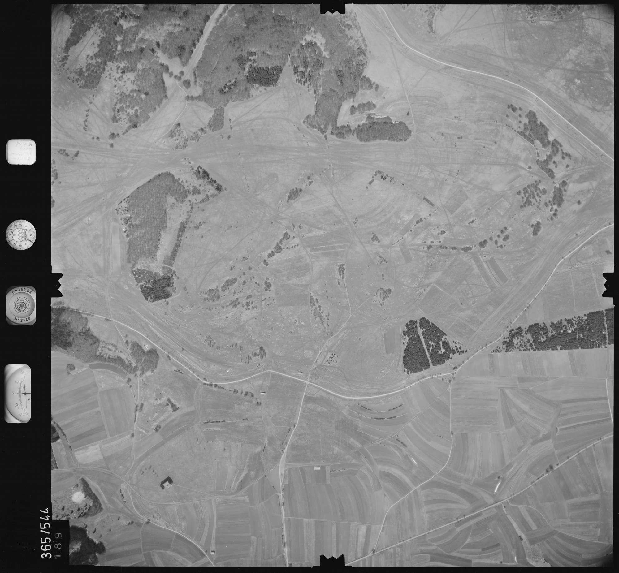 Luftbild: Film 45 Bildnr. 189, Bild 1
