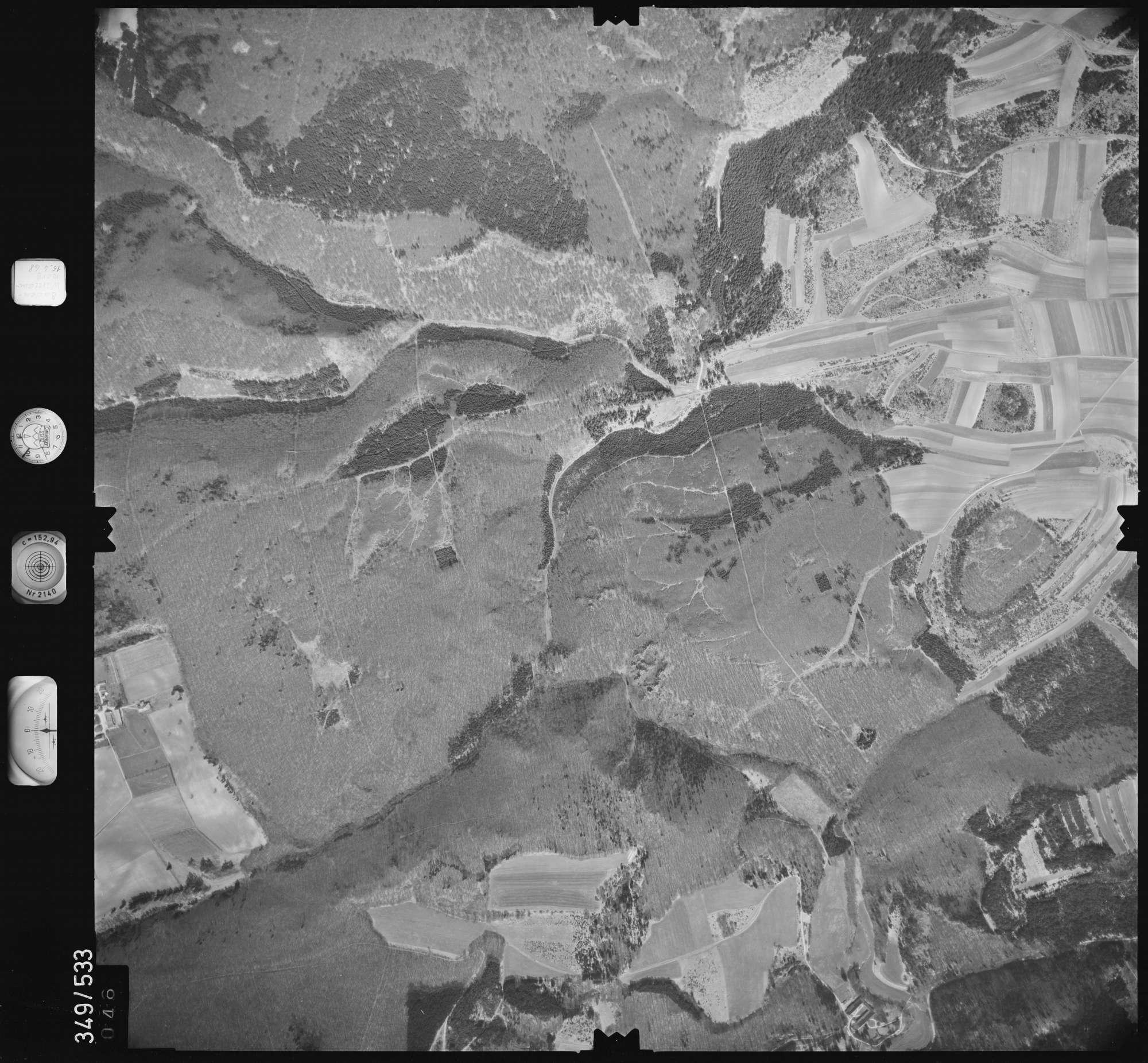 Luftbild: Film 45 Bildnr. 46, Bild 1