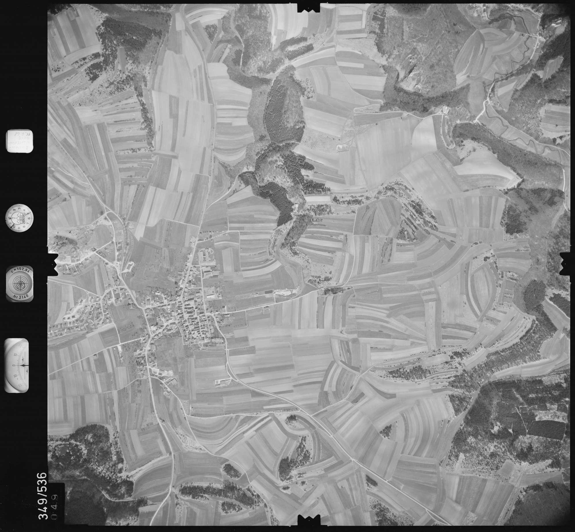 Luftbild: Film 45 Bildnr. 49, Bild 1