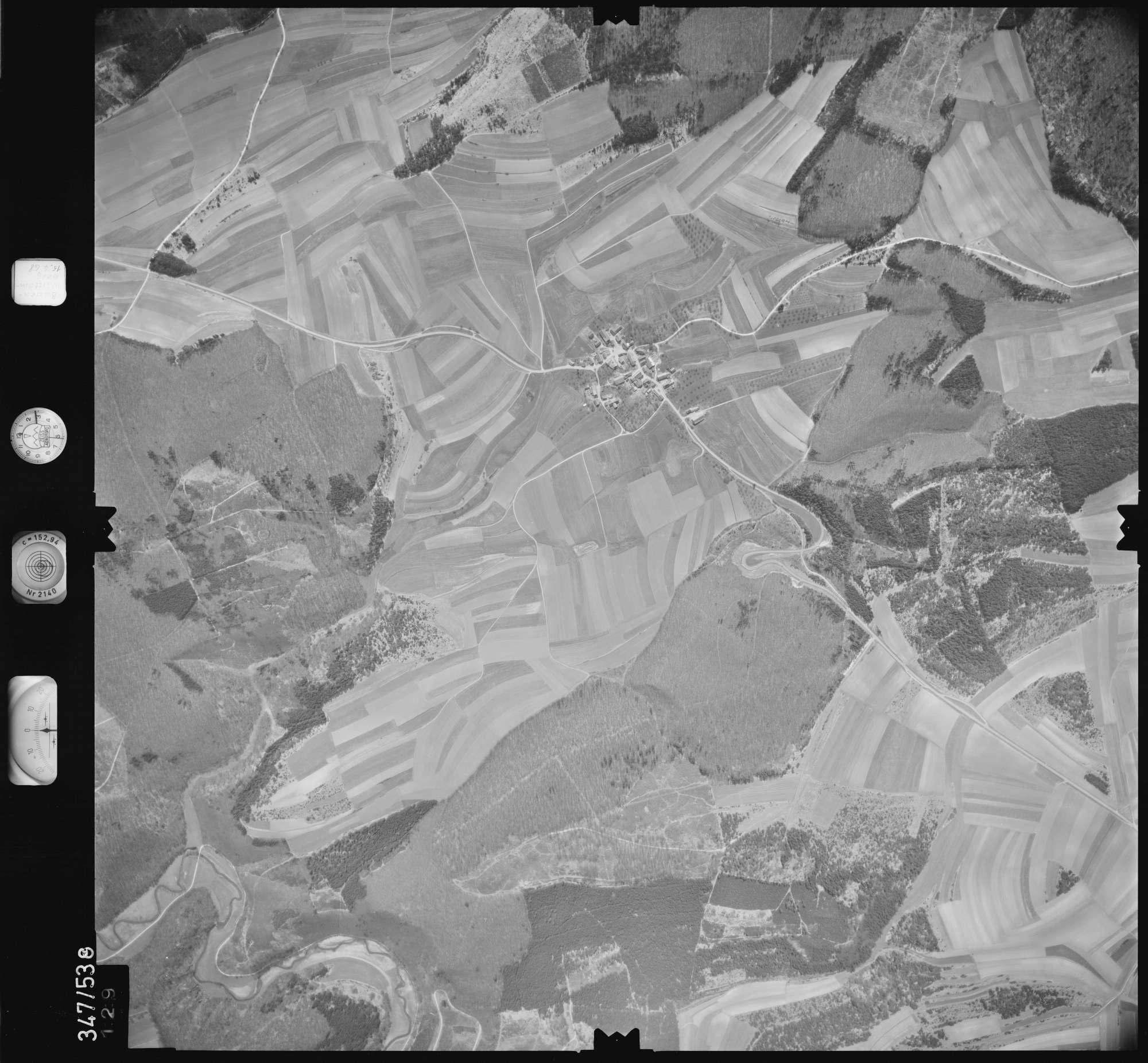 Luftbild: Film 45 Bildnr. 129, Bild 1