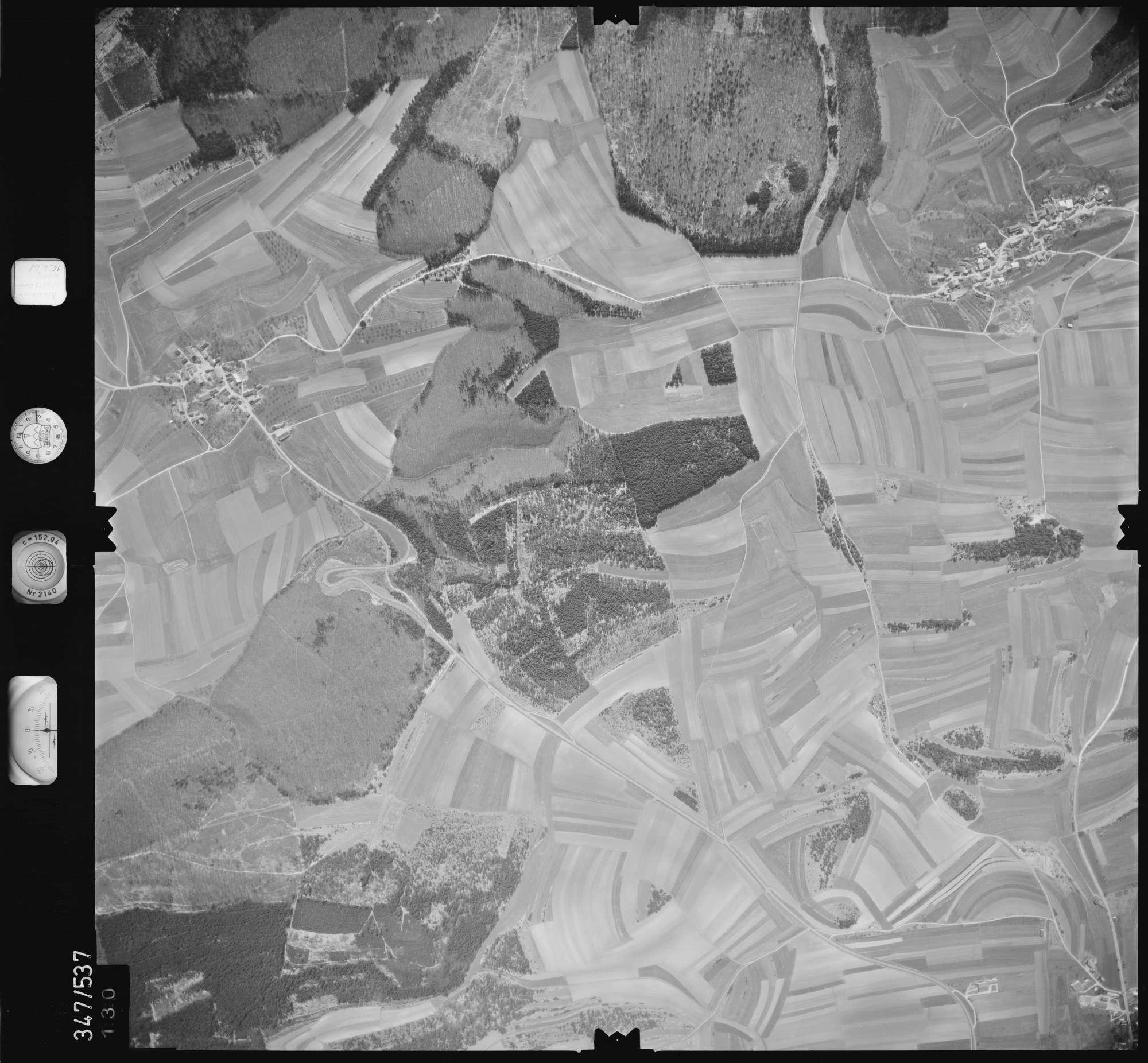 Luftbild: Film 45 Bildnr. 130, Bild 1