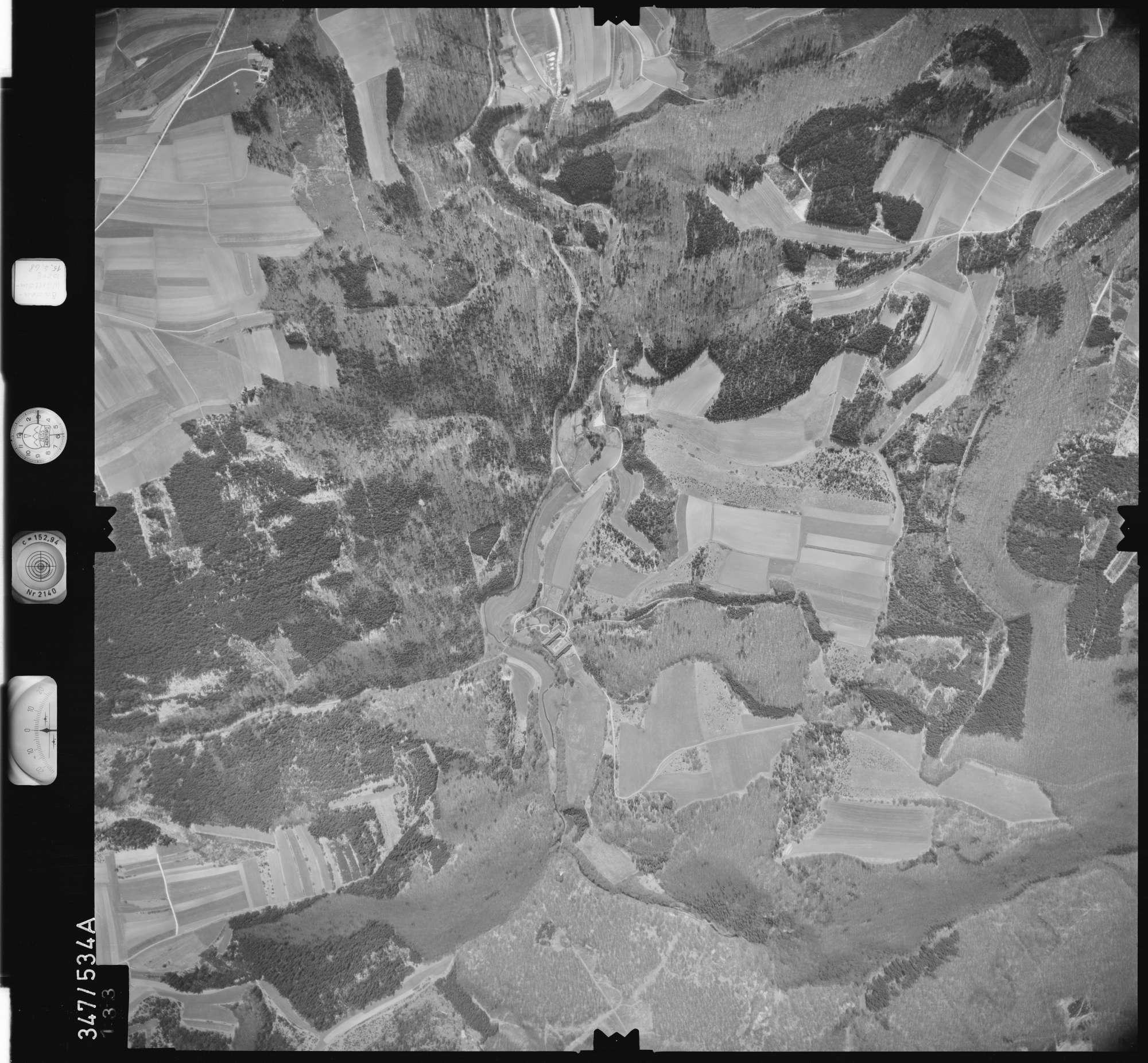 Luftbild: Film 45 Bildnr. 133, Bild 1